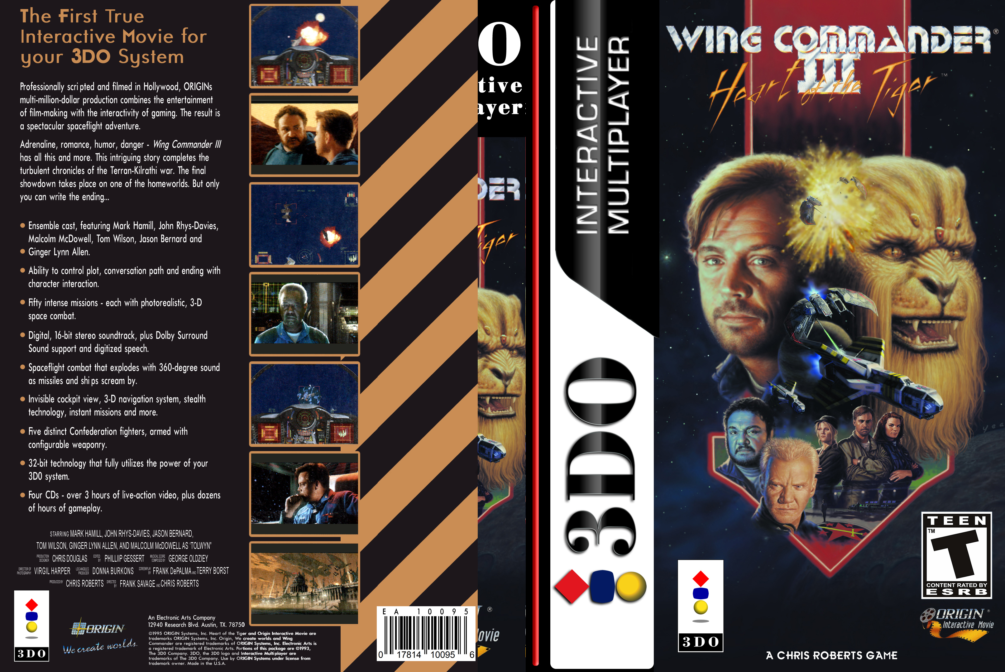 Wing Commander 3 3do Covers Cover Century Over 500 000 Album