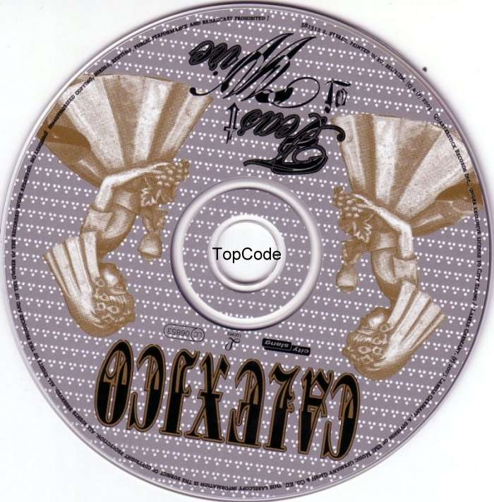 Calexico feast of wire SE cda   CD Covers   Cover Century   Over
