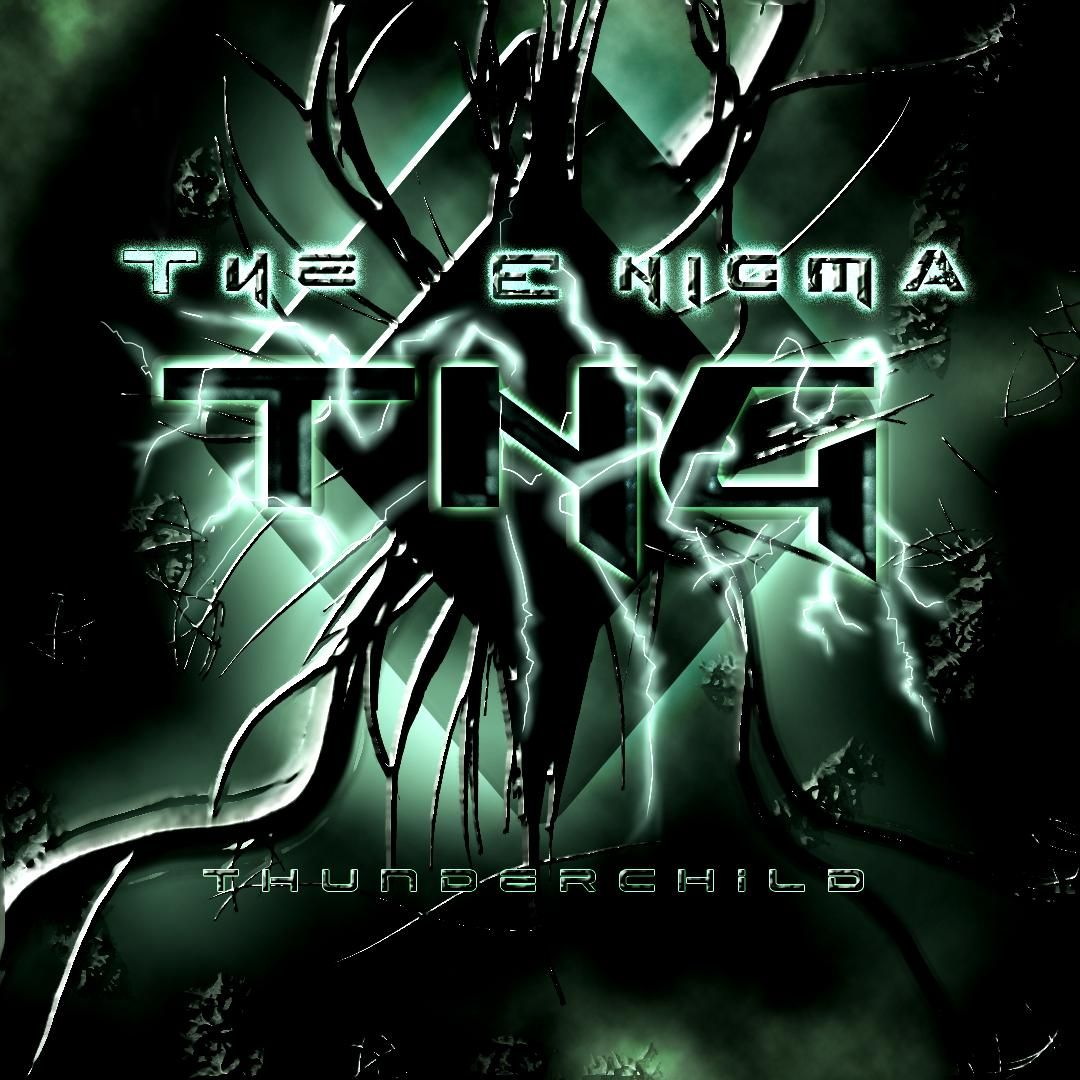thunderchild the enigma tng | CD Covers | Cover Century