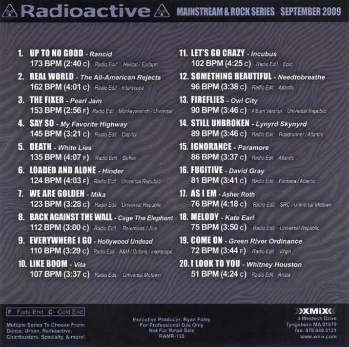 x mix radioactive ma asher roth | CD Covers | Cover Century | Over