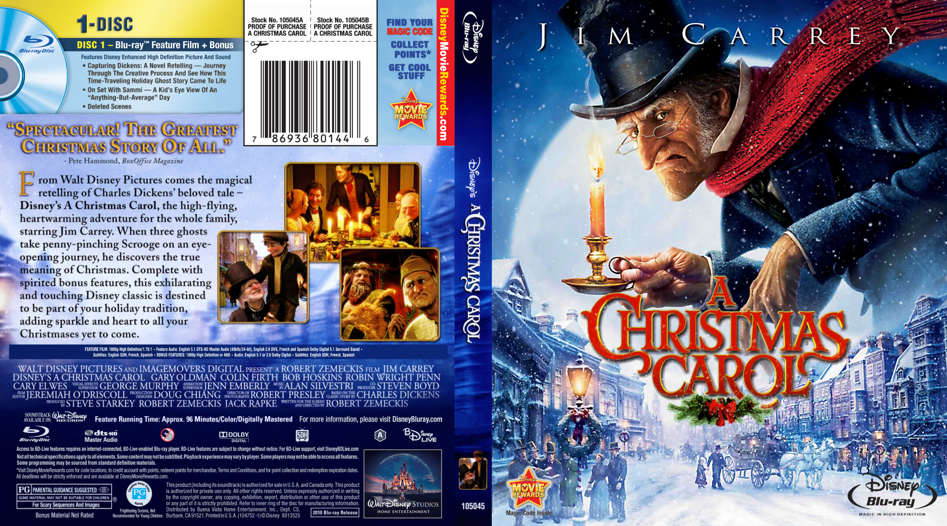 A Christmas Carol 2009 Br Blu Ray Covers Cover Century Over 500 000 Album Art Covers For Free