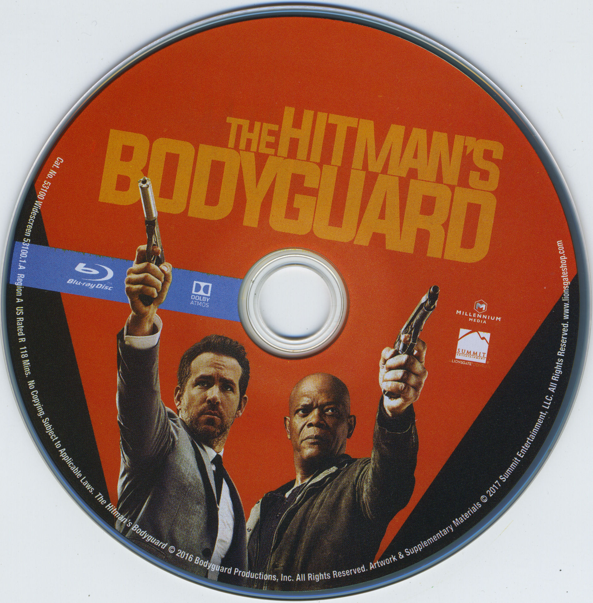 Hitmans Bodyguard 2017 Cd Blu Ray Covers Cover Century Over 500 000 Album Art Covers For Free
