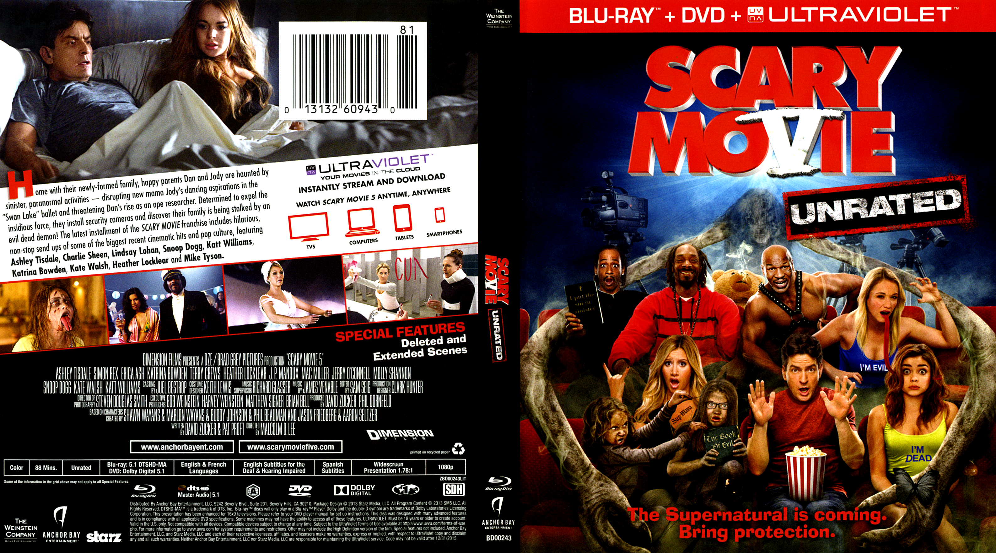 Scary Movie 5 Blu Ray Covers Cover Century Over 500 000 Album Art Covers For Free
