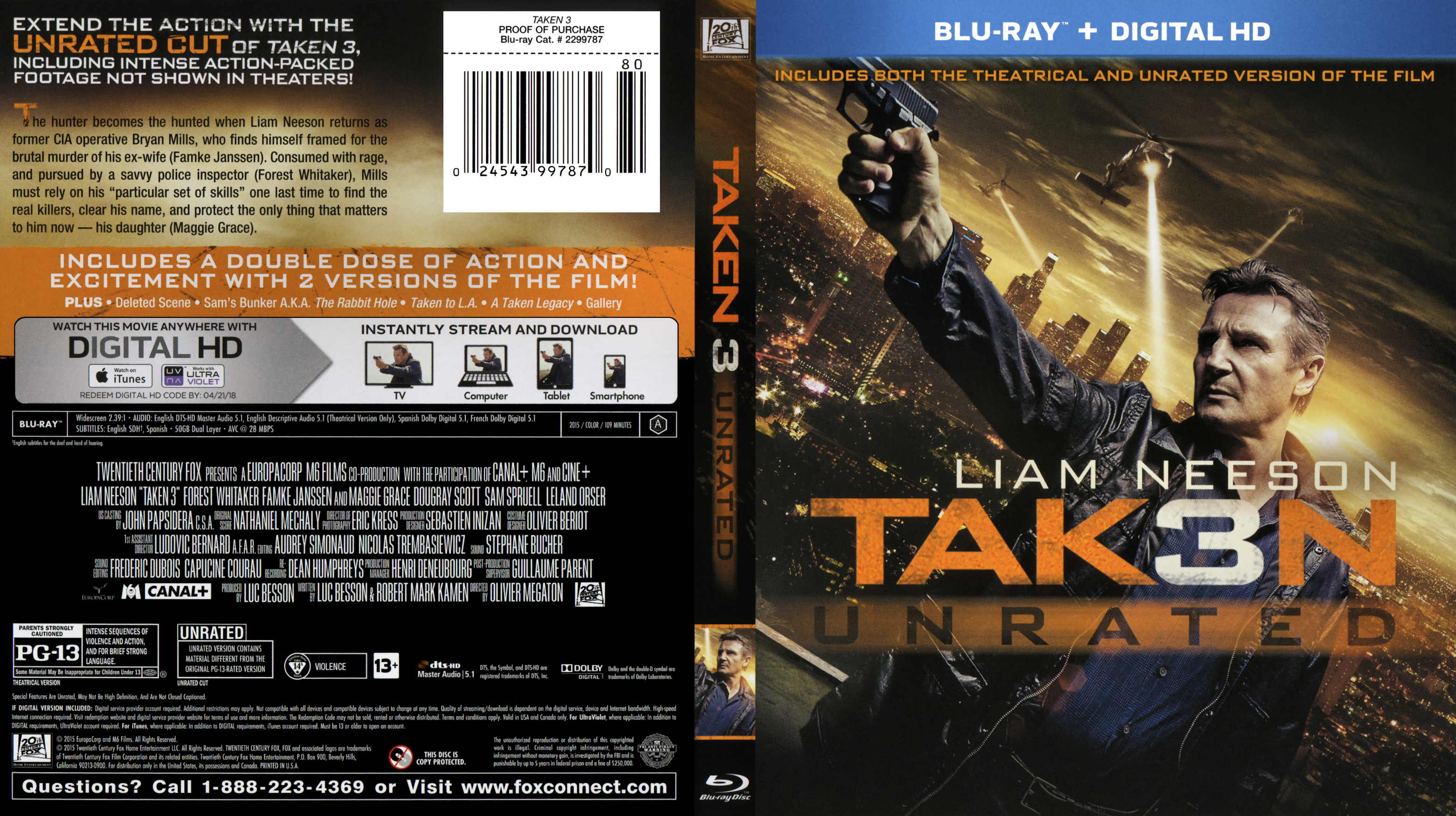 Taken 3 Blu Ray Blu Ray Covers Cover Century Over 500 000 Album Art Covers For Free