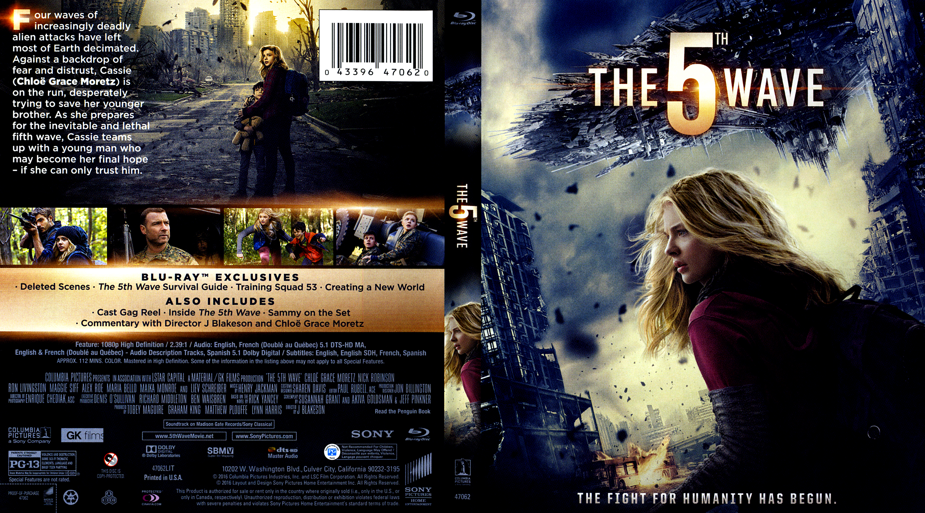 The 5th Wave   Blu-Ray Covers   Cover Century   Over 500 000