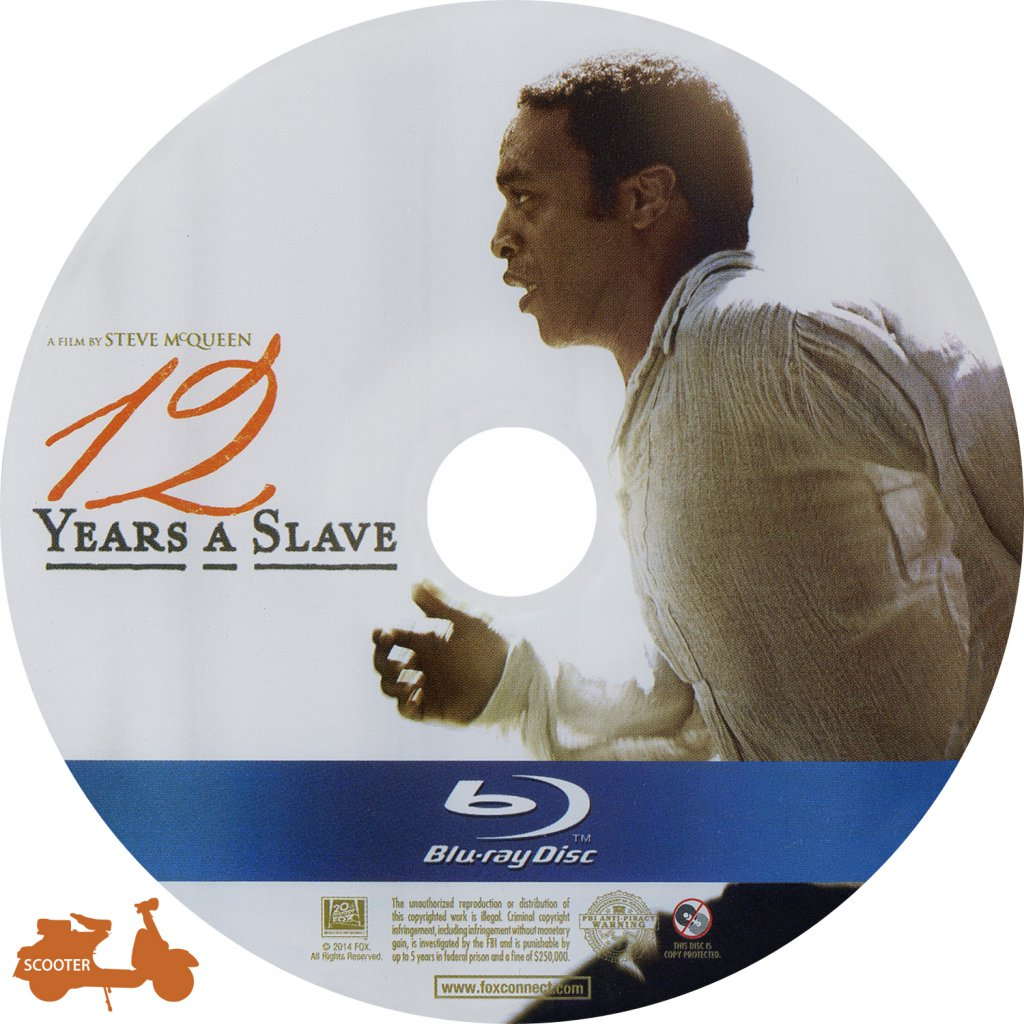12 Years A Slave 2013 Scanned Bluray Label 001 Dvd Covers Cover Century Over 500 000 Album Art Covers For Free