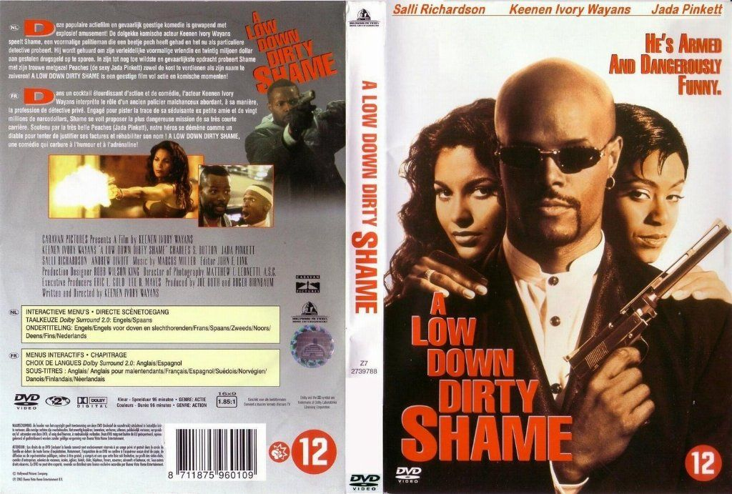 A Low Down Dirty Shame Dvd Nl Dvd Covers Cover Century Over
