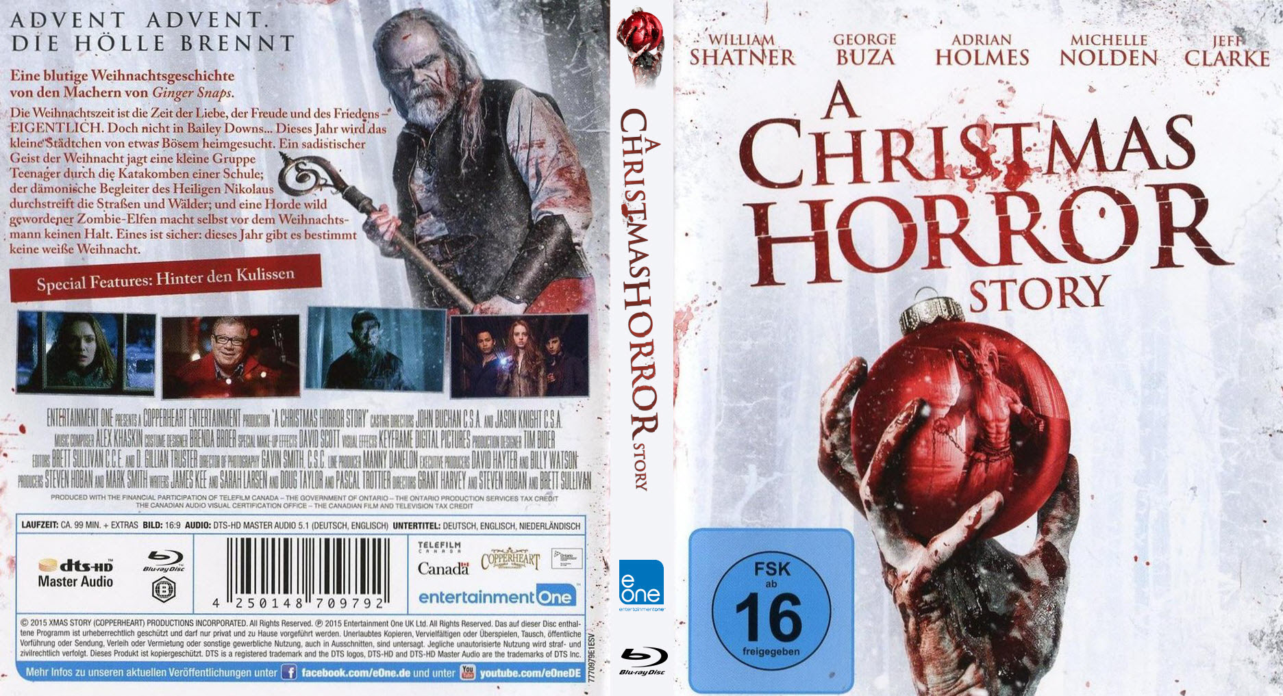 A Christmas Horror Story.A Christmas Horror Story Cover Bd Dvd Covers Cover