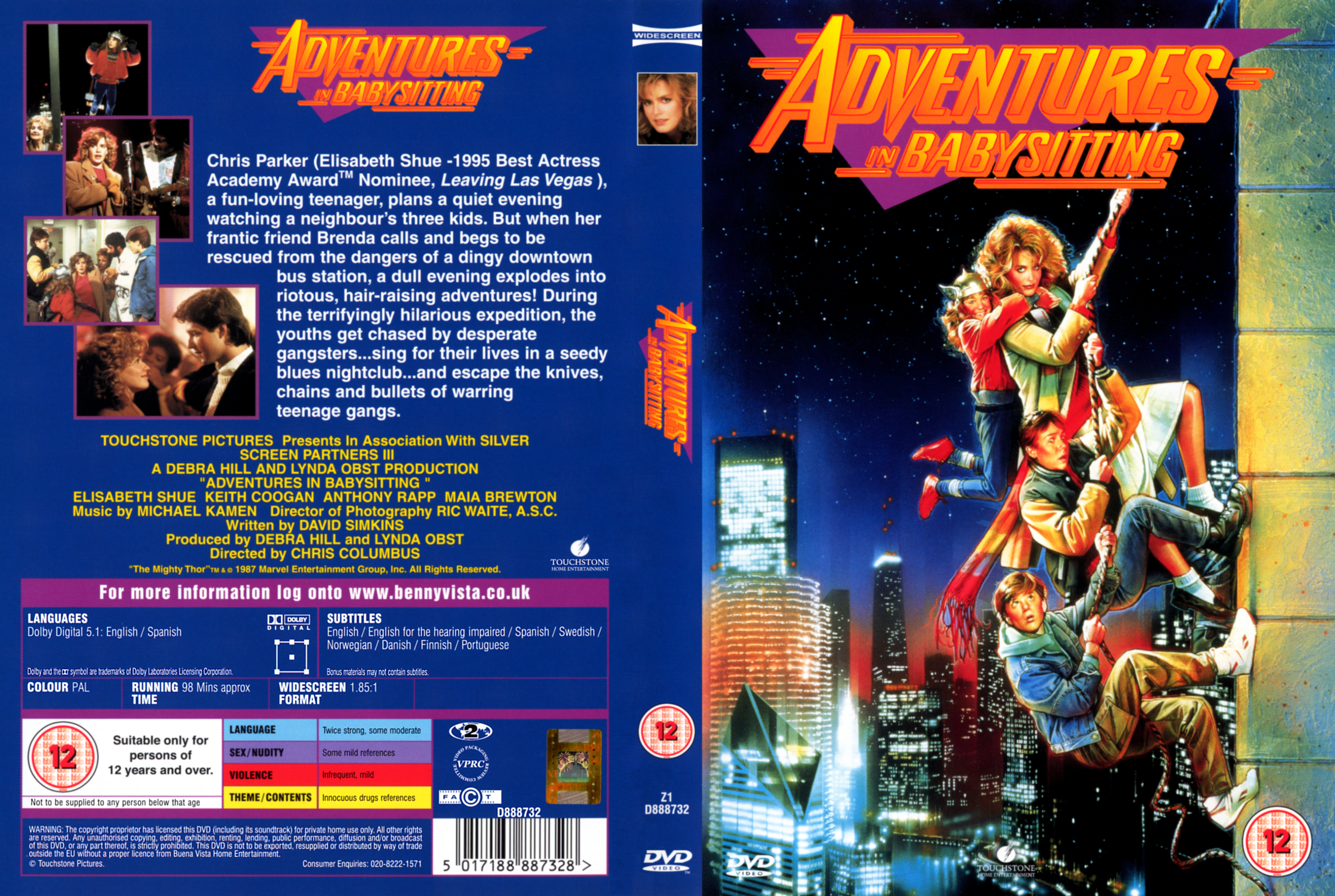 Adventures In Babysitting Dvd Covers Cover Century Over 500 000 Album Art Covers For Free