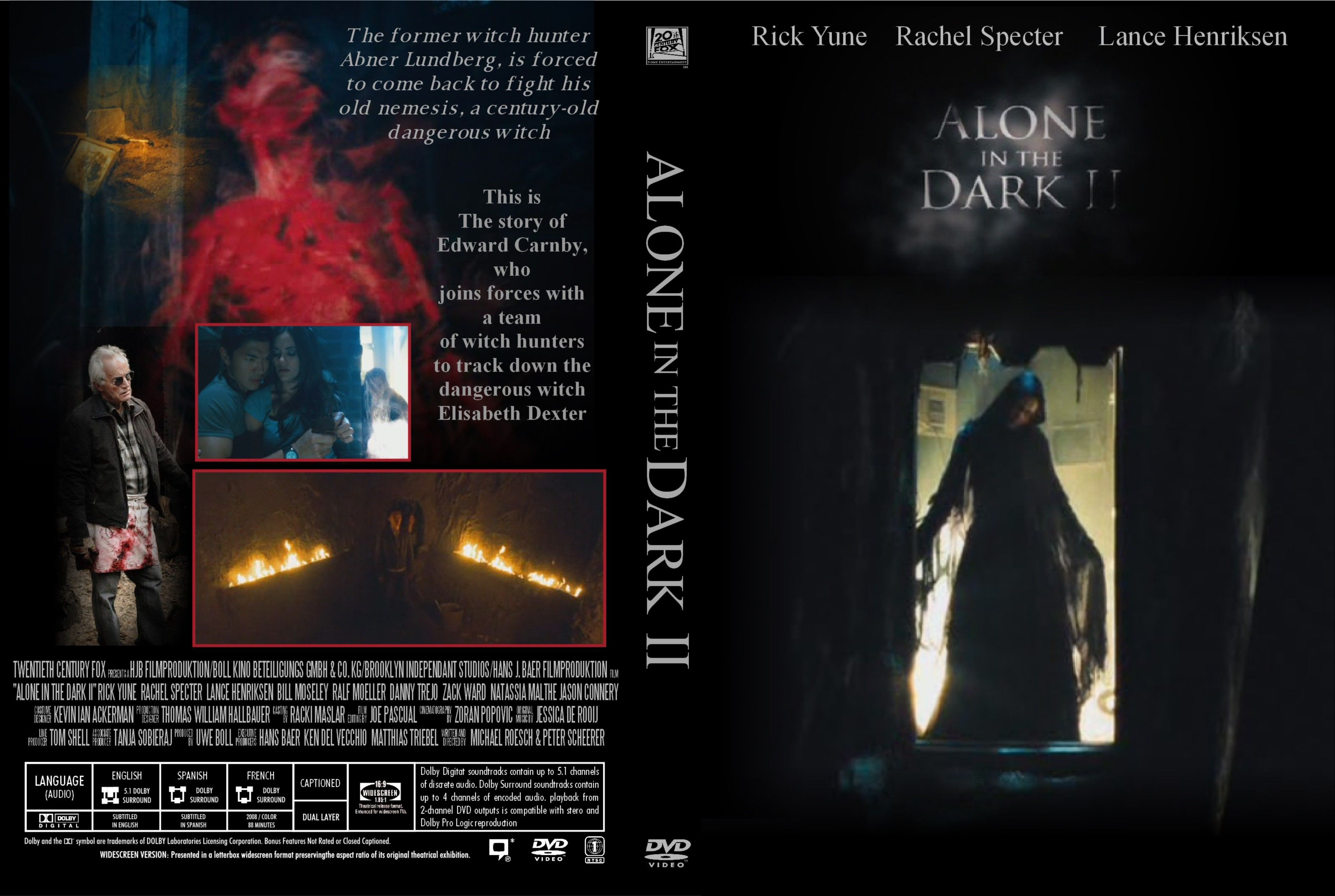 Alone In The Dark 2 Dvd Us Dvd Covers Cover Century Over