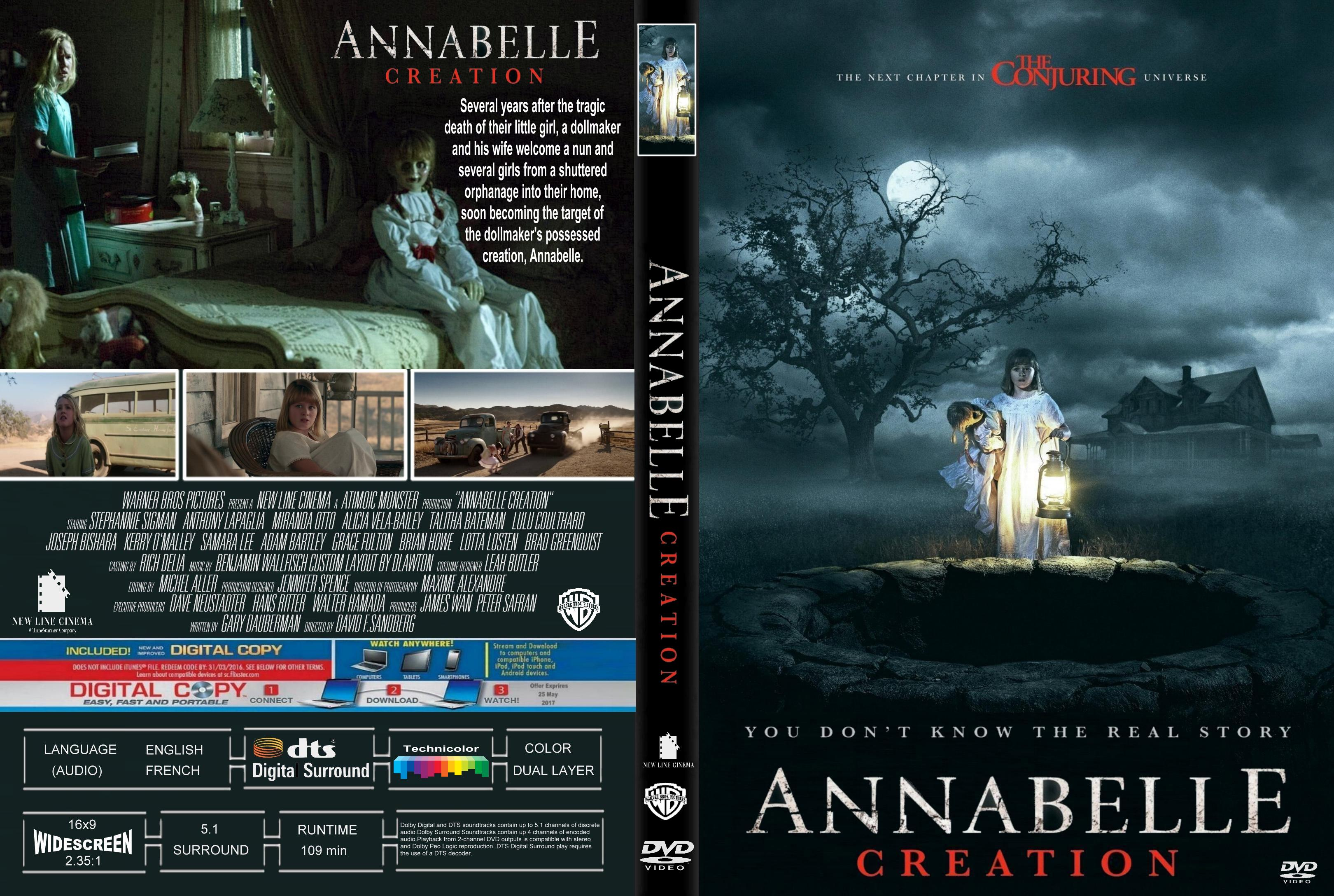 Annabelle Creation 2017 Front Dvd Covers Cover Century Over 500 000 Album Art Covers For Free