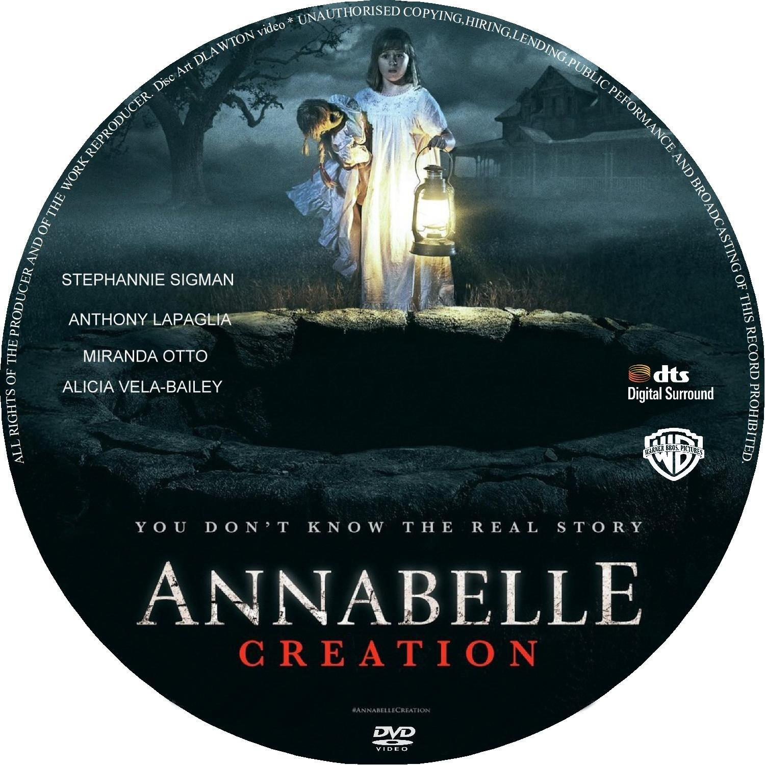 Annabelle Creation 2017 Cd Dvd Covers Cover Century Over 500 000 Album Art Covers For Free