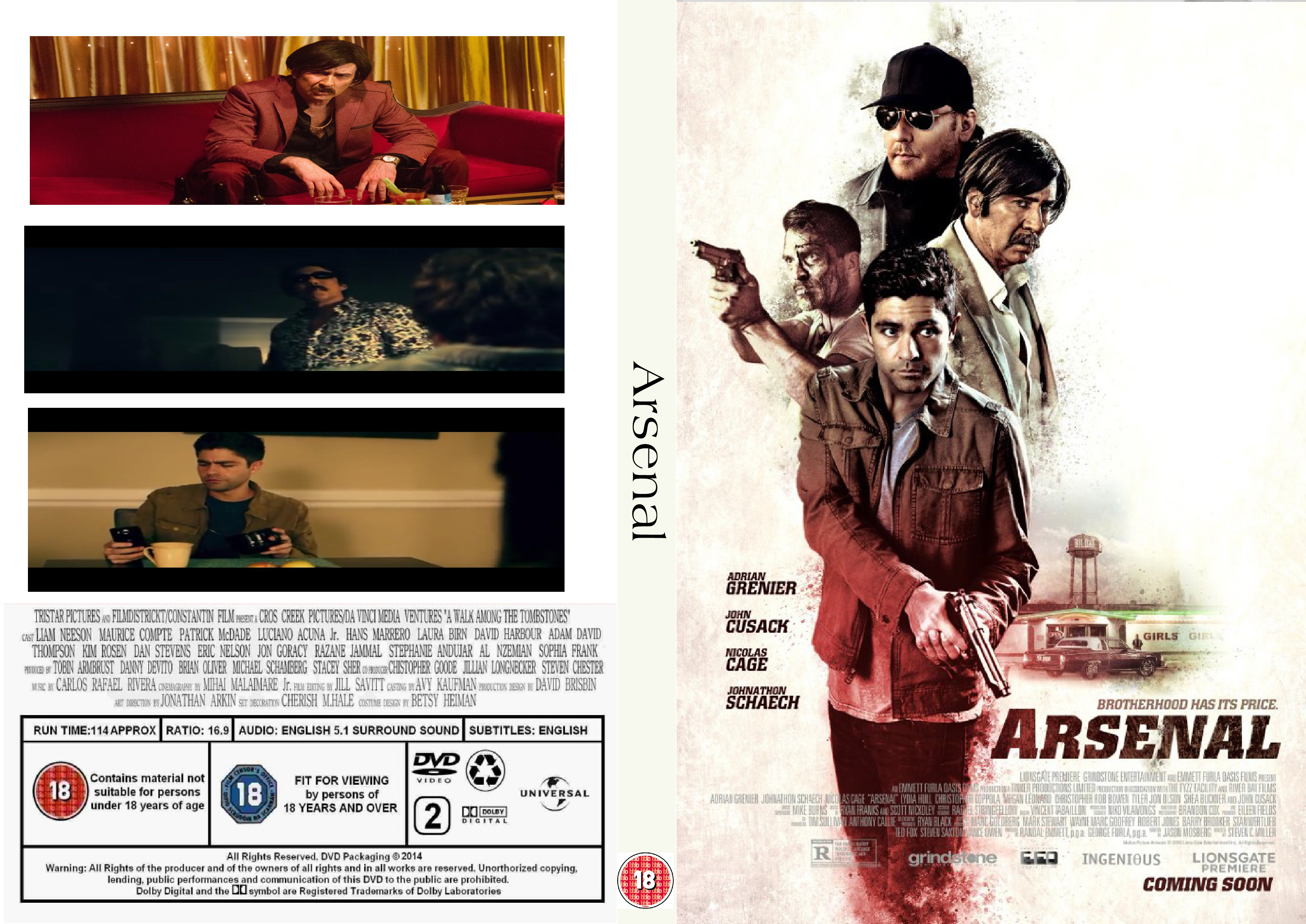 Arsenal (2017) : Front | DVD Covers | Cover Century | Over ...