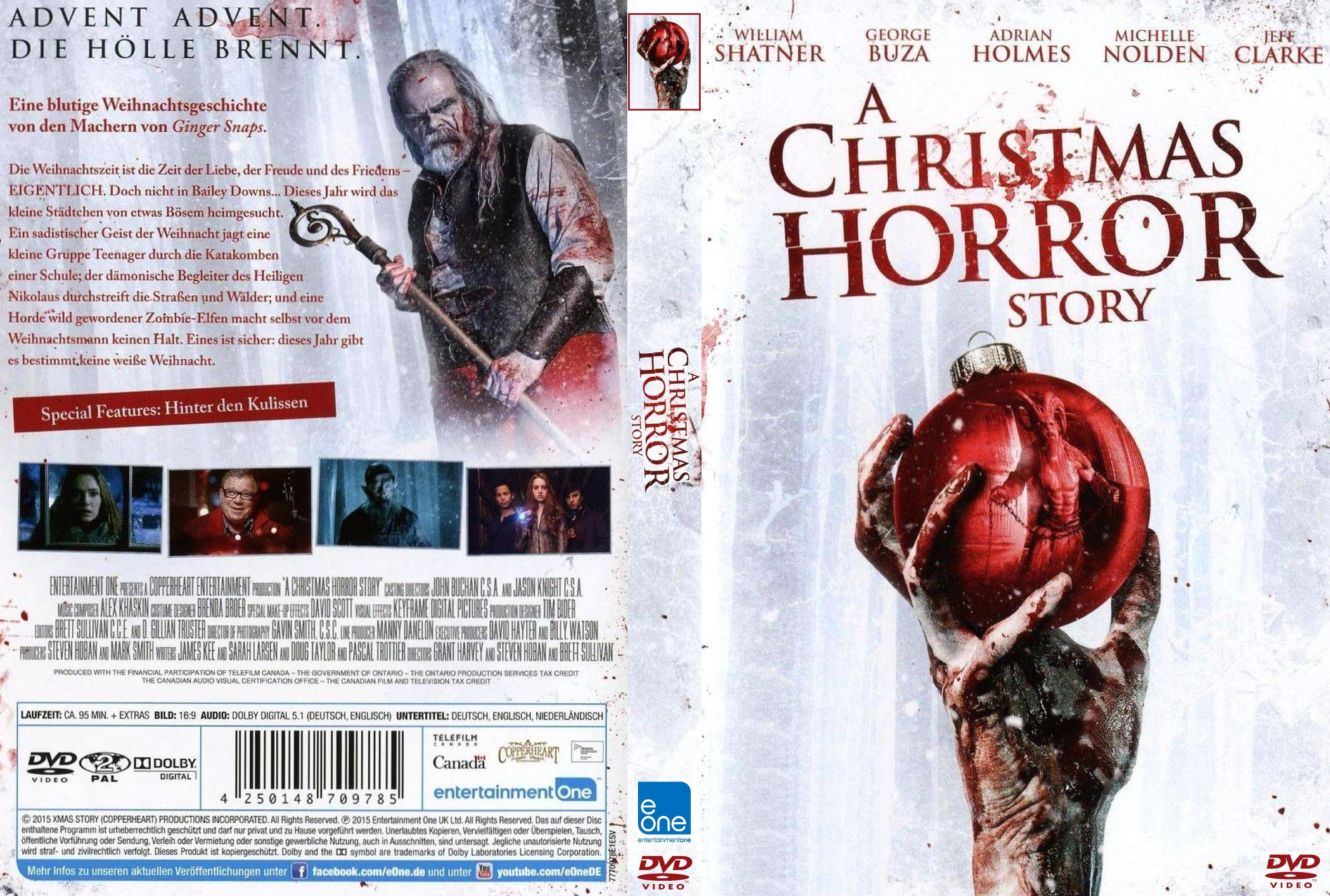 Christmas Horror Story.A Christmas Horror Story Dvd Covers Cover Century Over