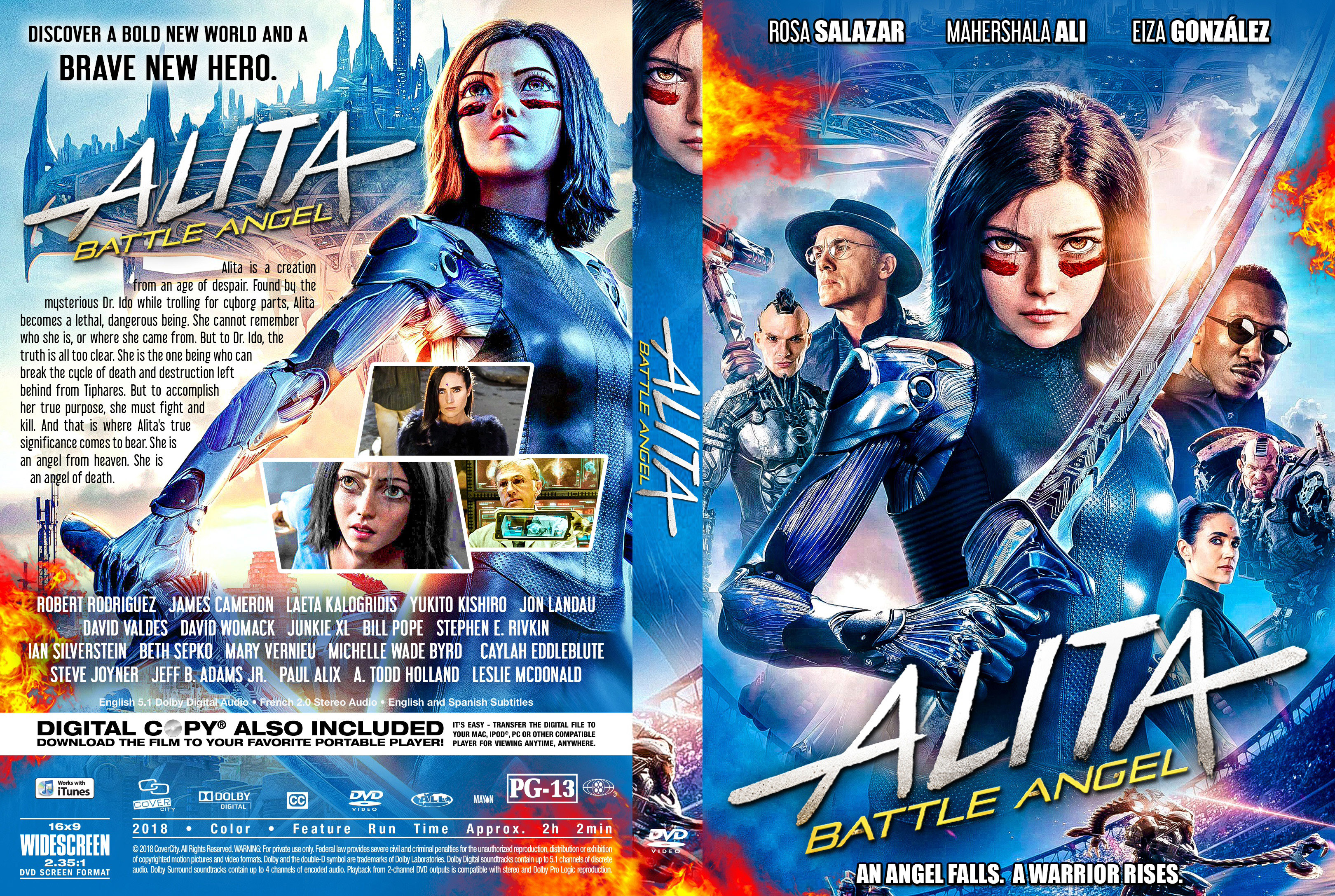 Alita Battle Angel 2019 Front Dvd Covers Cover Century Over 500 000 Album Art Covers For Free