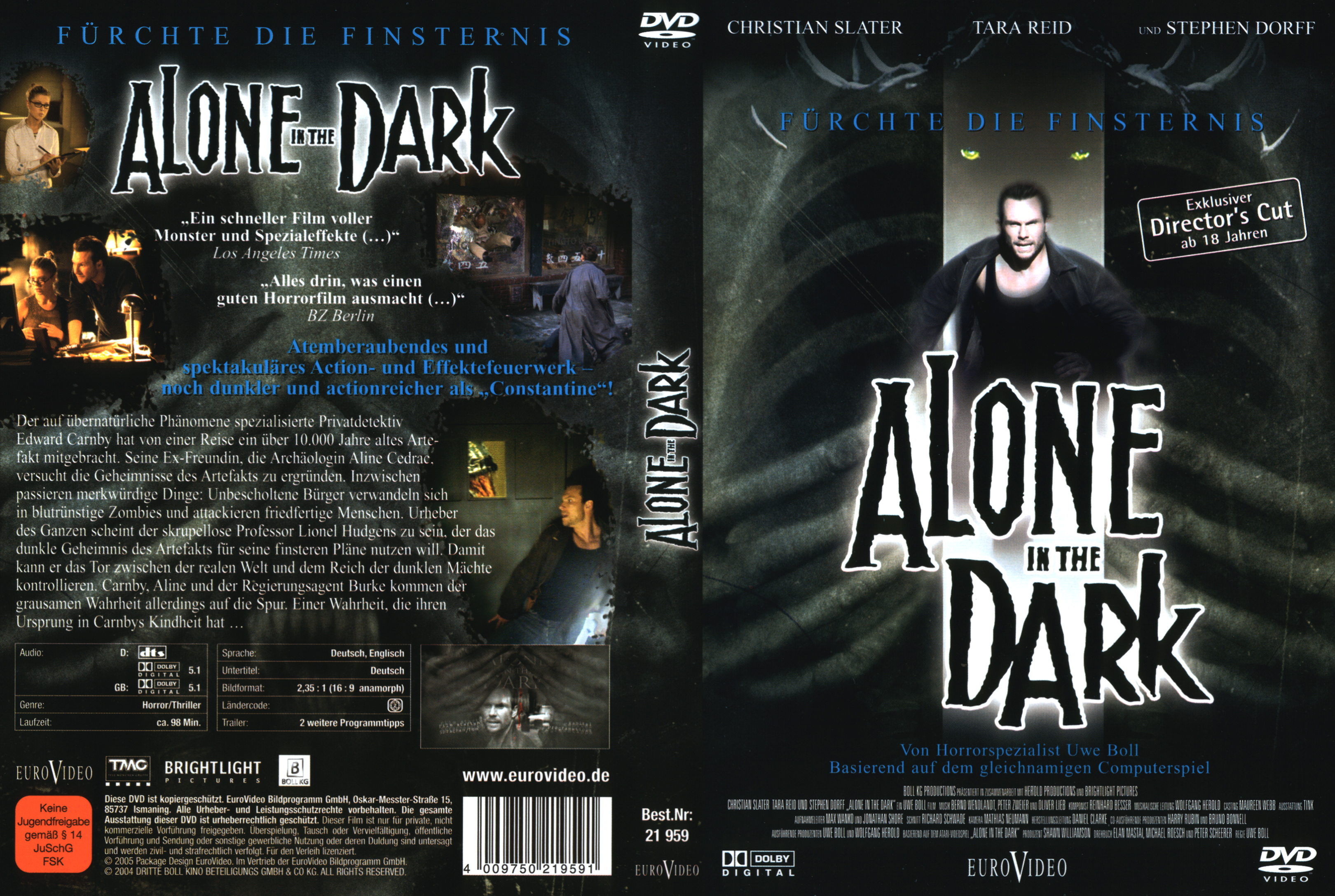Alone In The Dark 1 Dvd Covers Cover Century Over 500 000