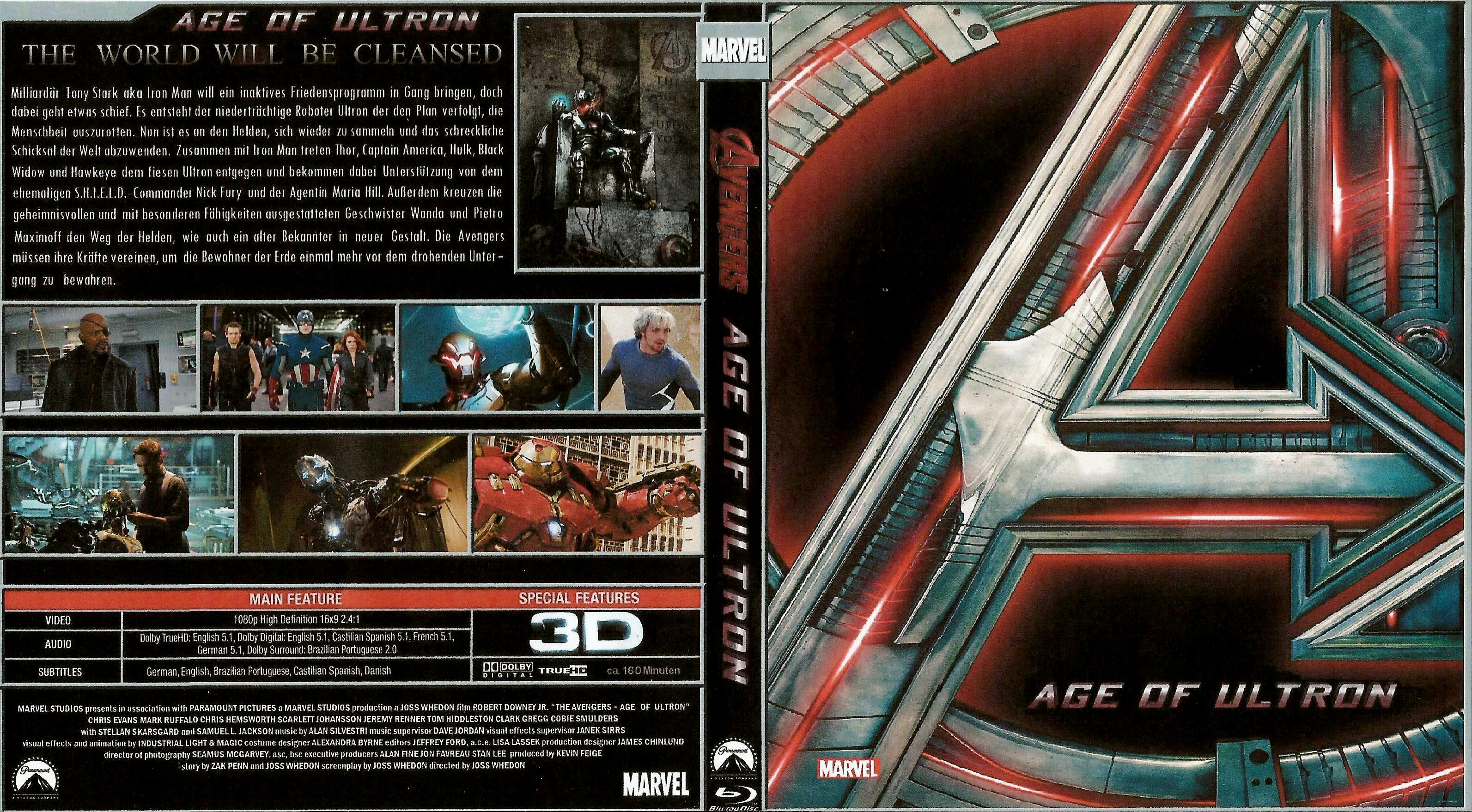 avengers age of ultron | DVD Covers | Cover Century | Over ...