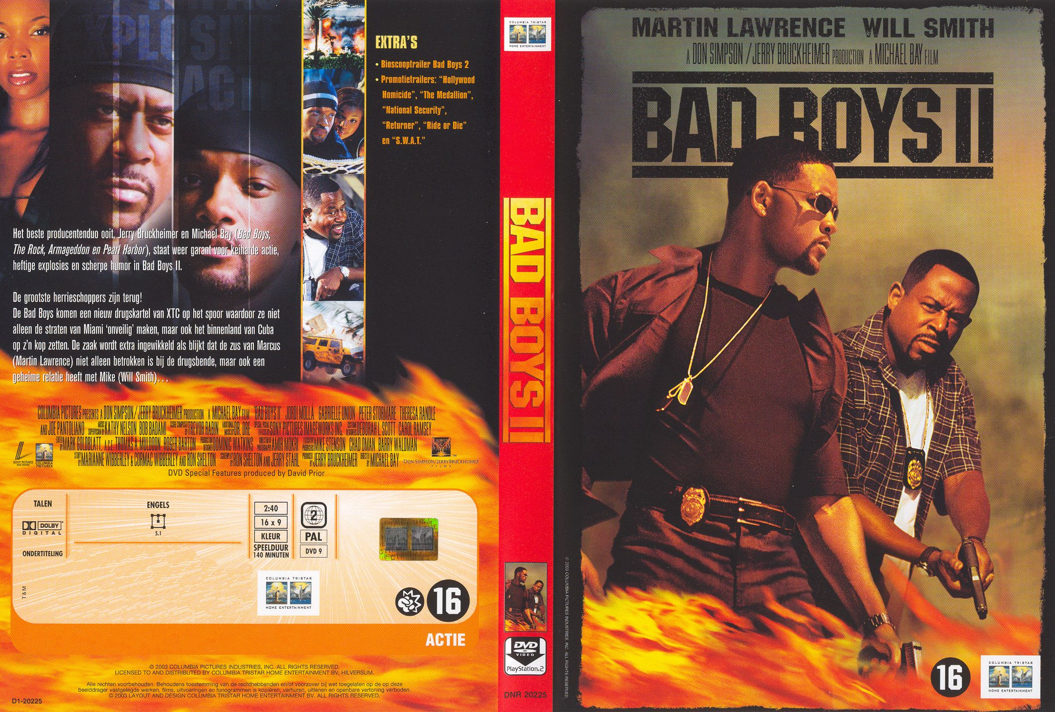 Bad Boys Ii Pal Misc Dvd Dvd Covers Cover Century Over 500 000 Album Art Covers For Free