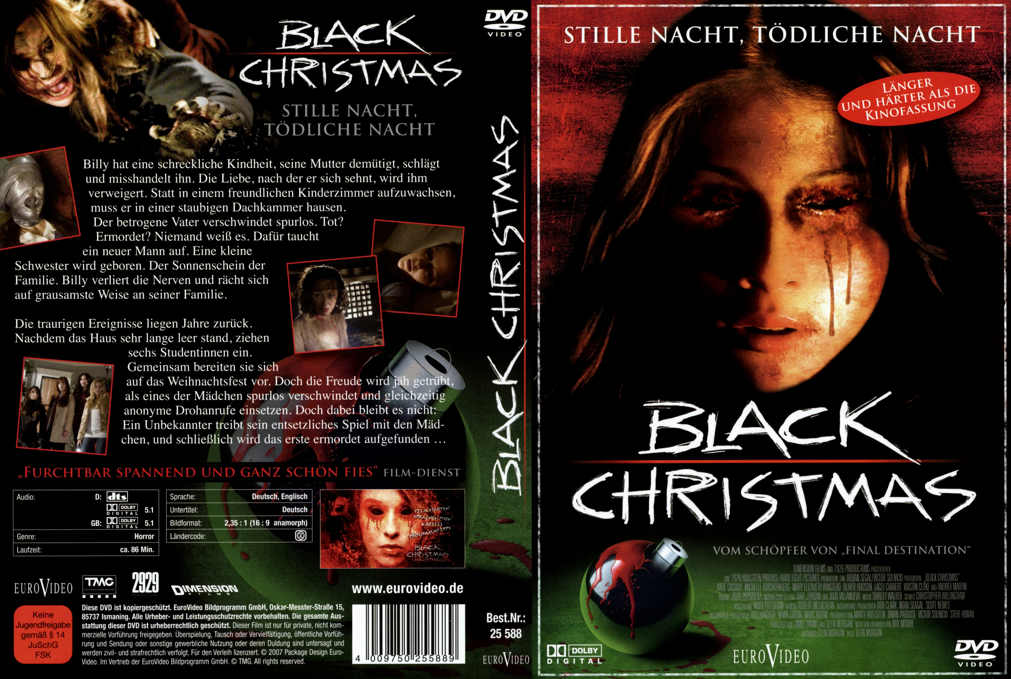 to save right click on the cover below and choose save picture as black christmas - Black Christmas 2006 Full Movie