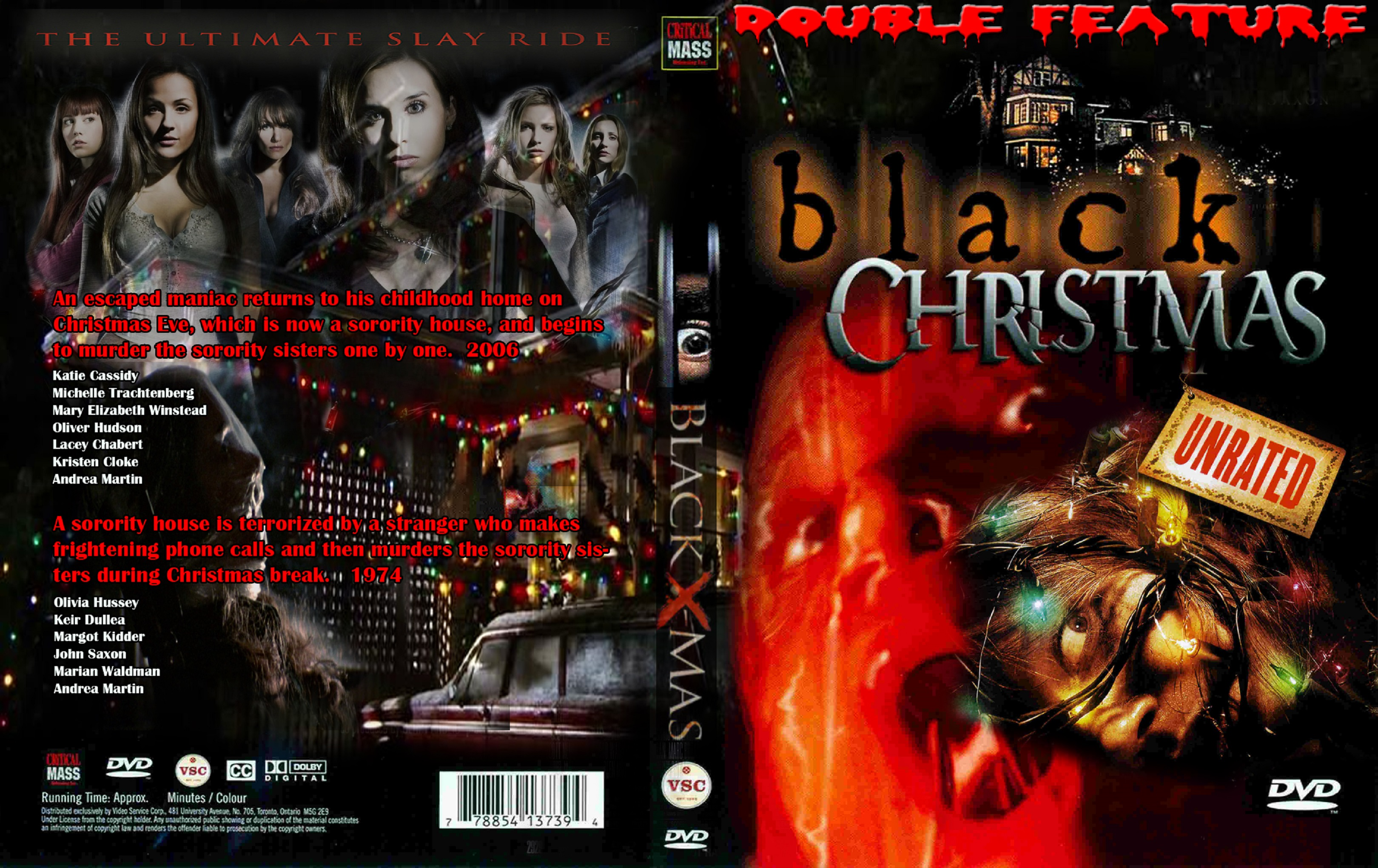to save right click on the cover below and choose save picture as black christmas edition 1974 2006 double feature - Black Christmas 2006