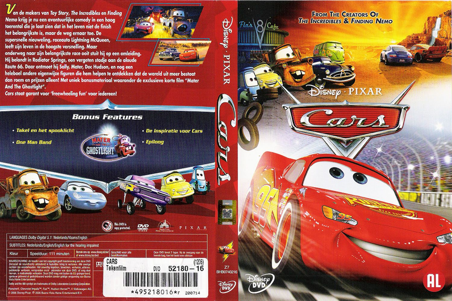 Cars Dvd Nl Dvd Covers Cover Century Over 500 000