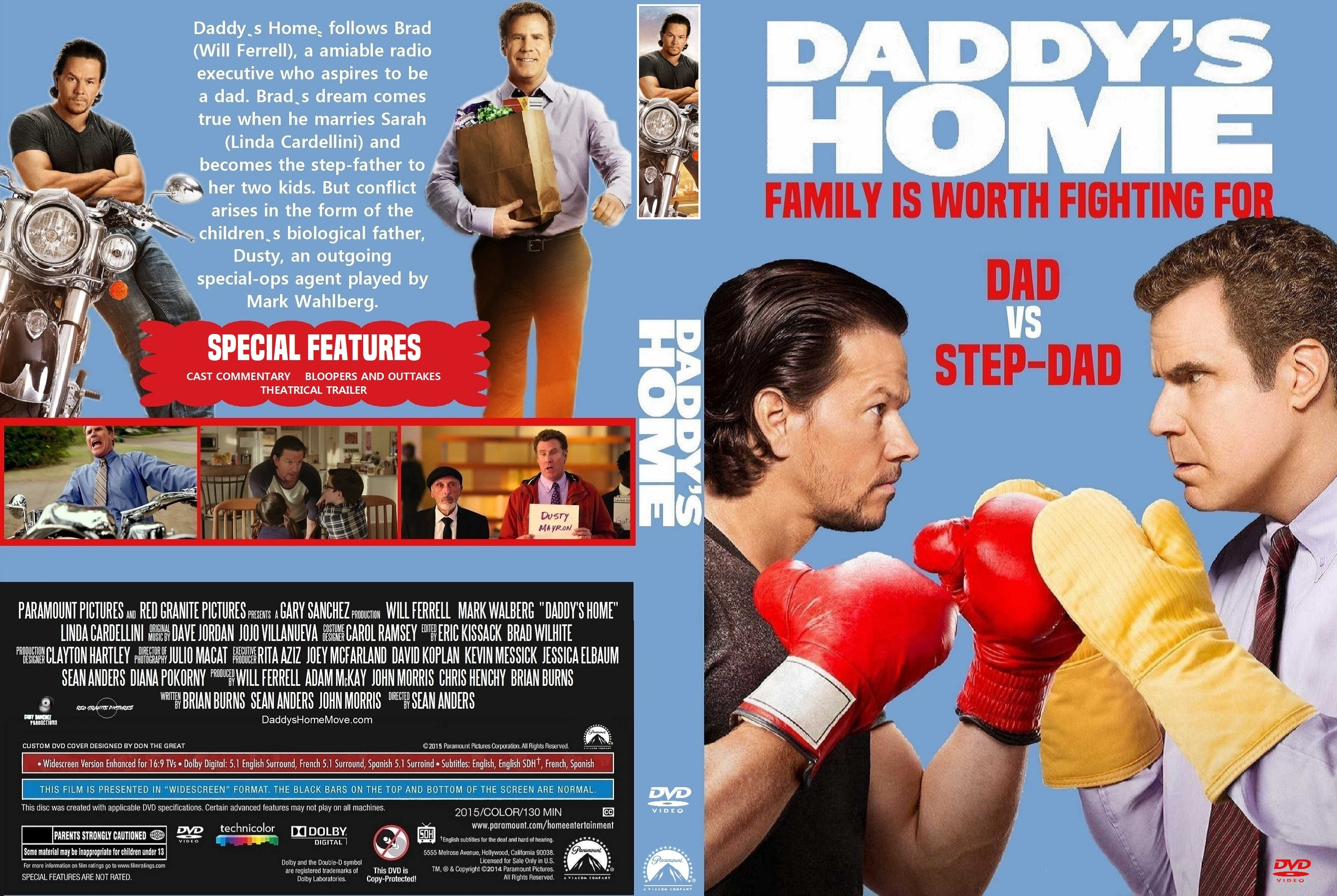 daddys home 2015 r1 dvd cover dvd covers cover century over rh covercentury com home again 2017 dvd cover spider man homecoming dvd cover