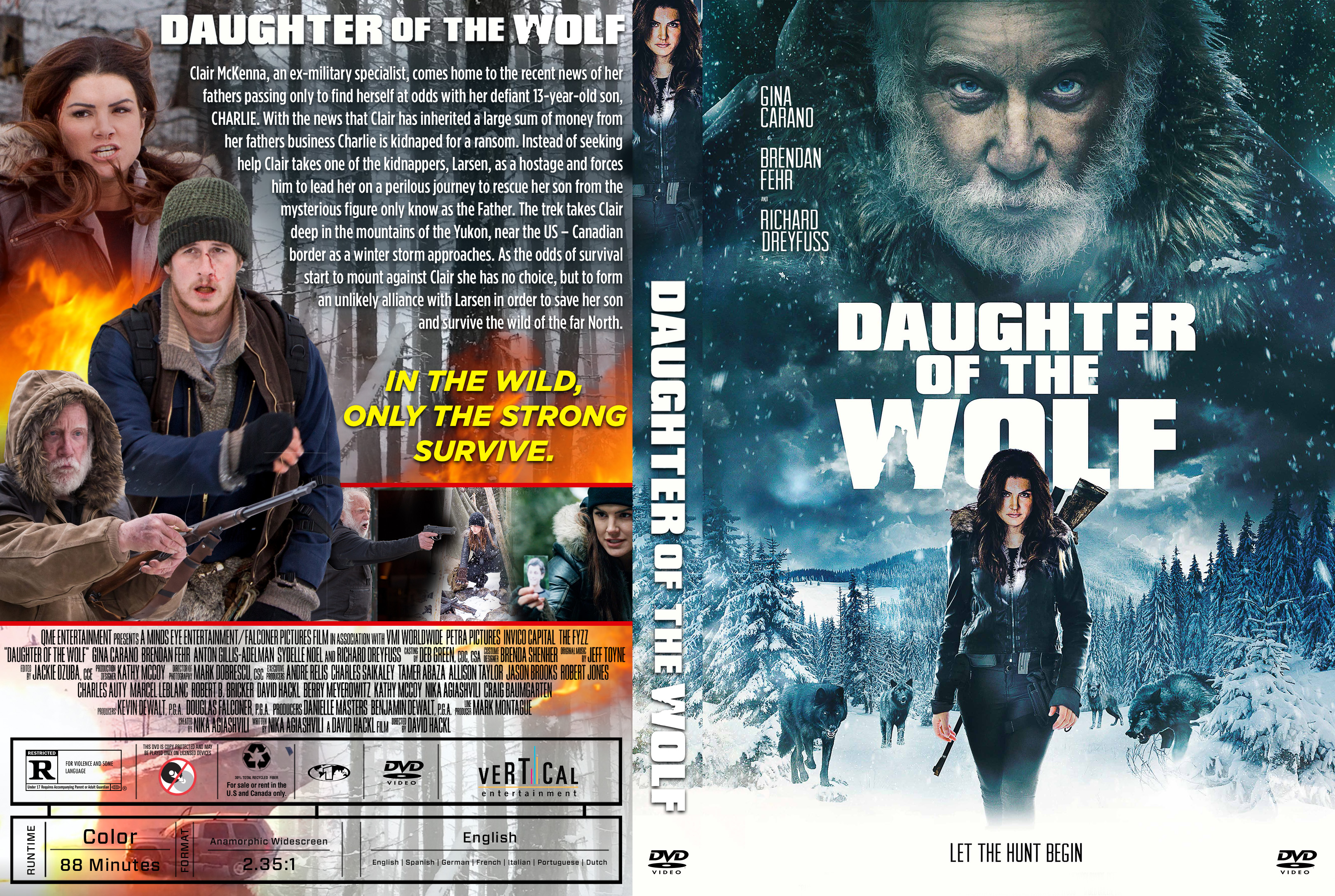 Daughter of the Wolf (2019) : Front | DVD Covers | Cover Century ...