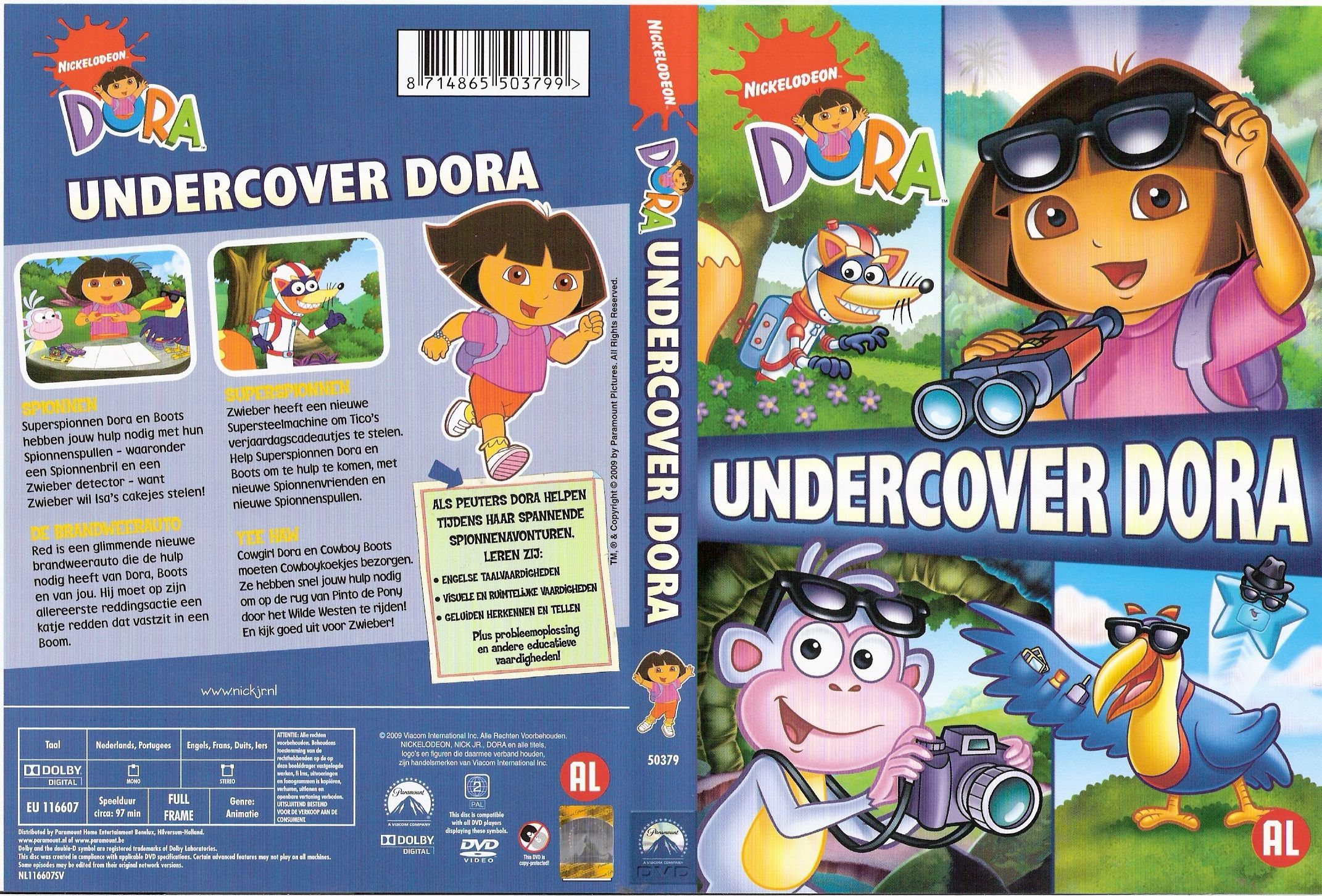 The gallery for --> Dora The Explorer Move To The Music Vhs Dora The Explorer Undercover Dora
