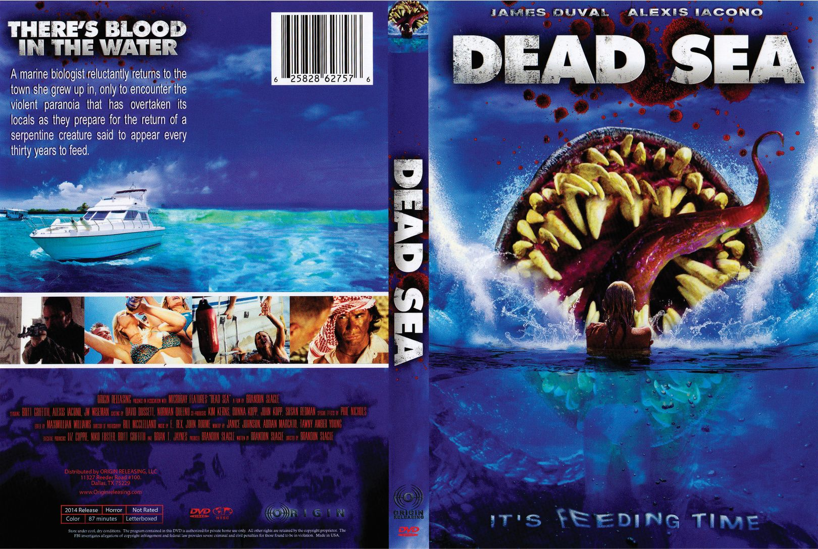 dead sea 2014 r1 front | DVD Covers | Cover Century | Over