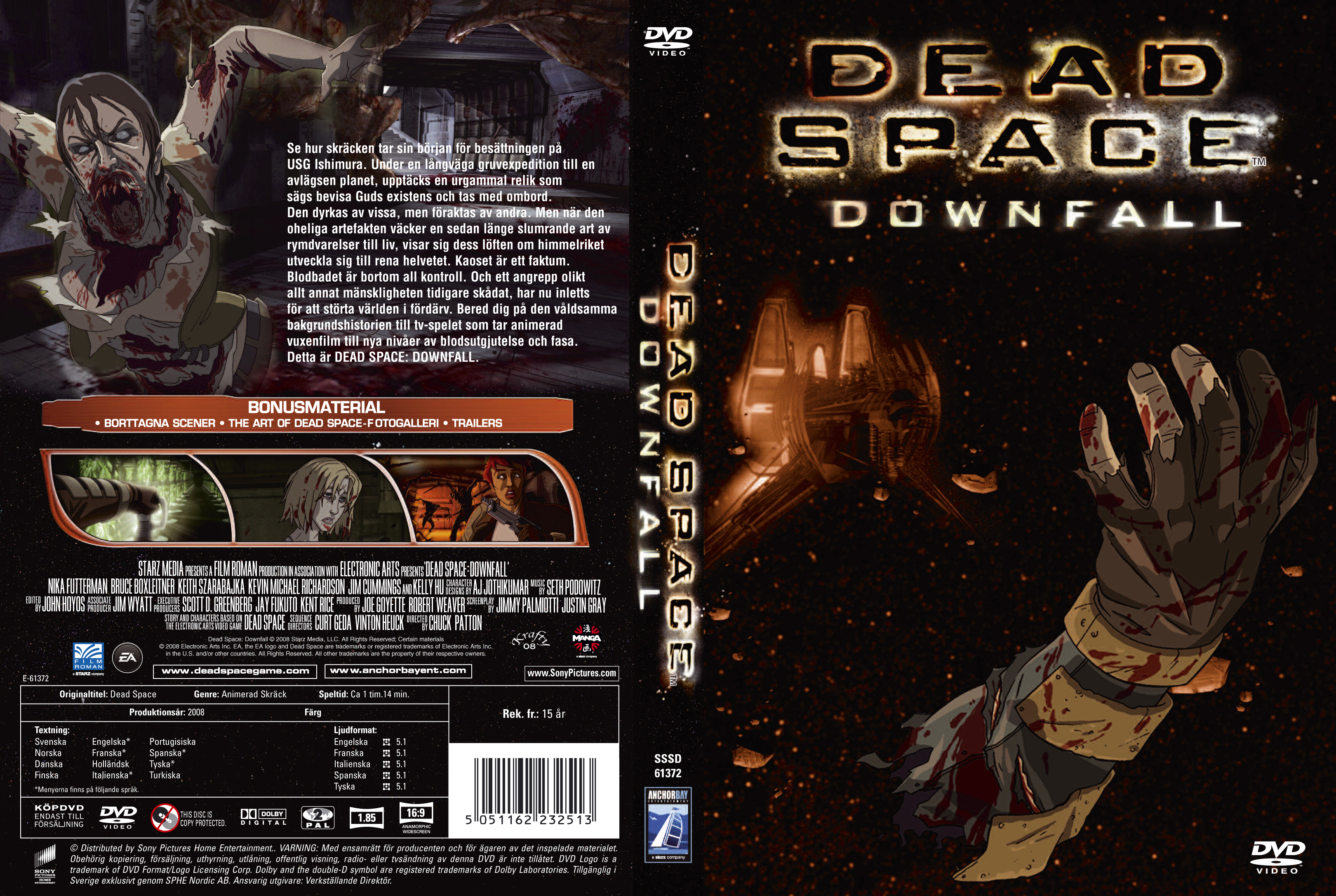 Deadspace Swe Dvd Covers Cover Century Over 500 000 Album