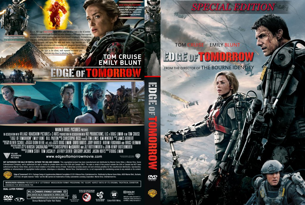 Edge Of Tomorrow 2014 Dvd Covers Cover Century Over 500 000 Album Art Covers For Free
