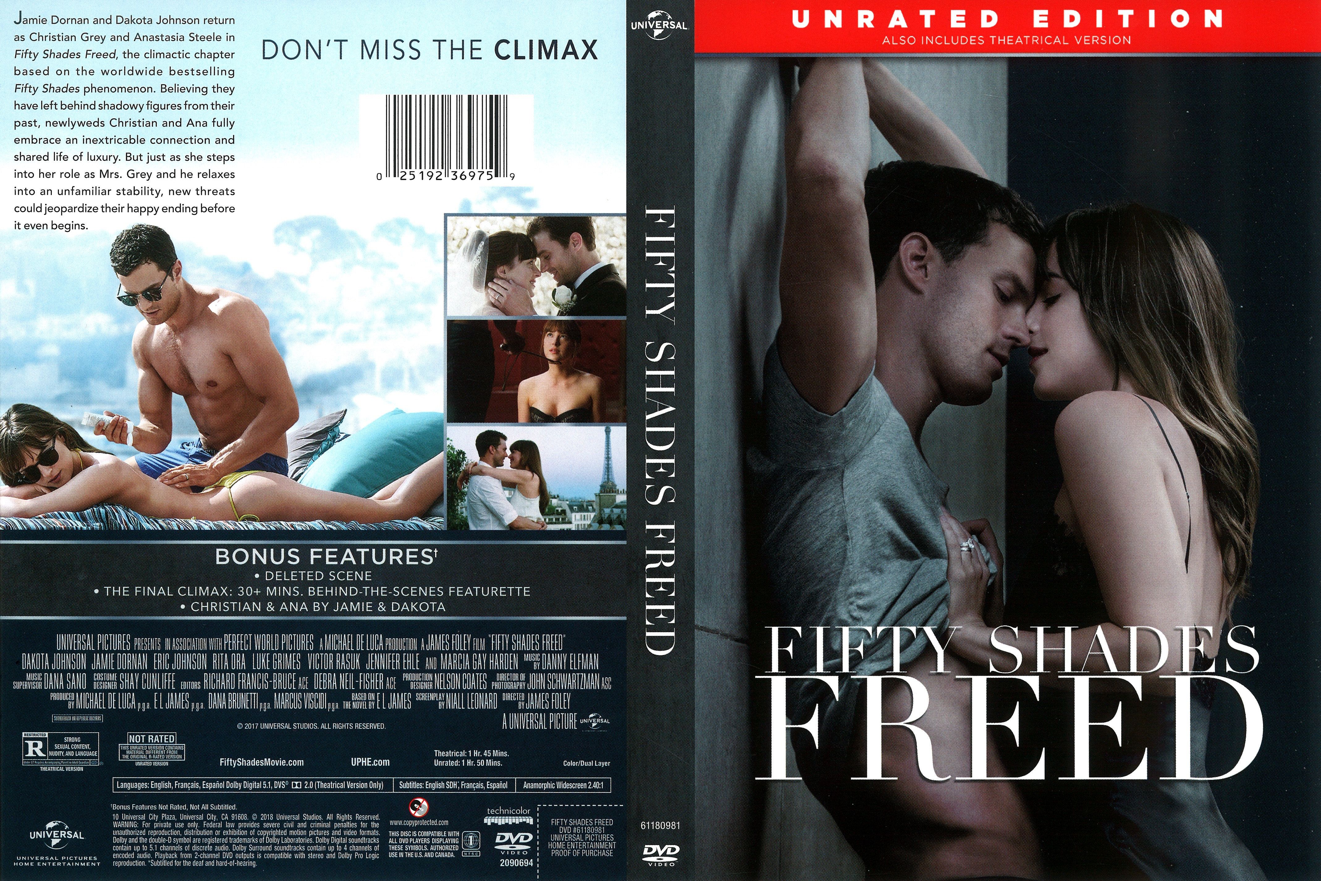 Fifty Shades Freed 2018 Front Dvd Covers Cover Century Over 500 000 Album Art Covers For Free