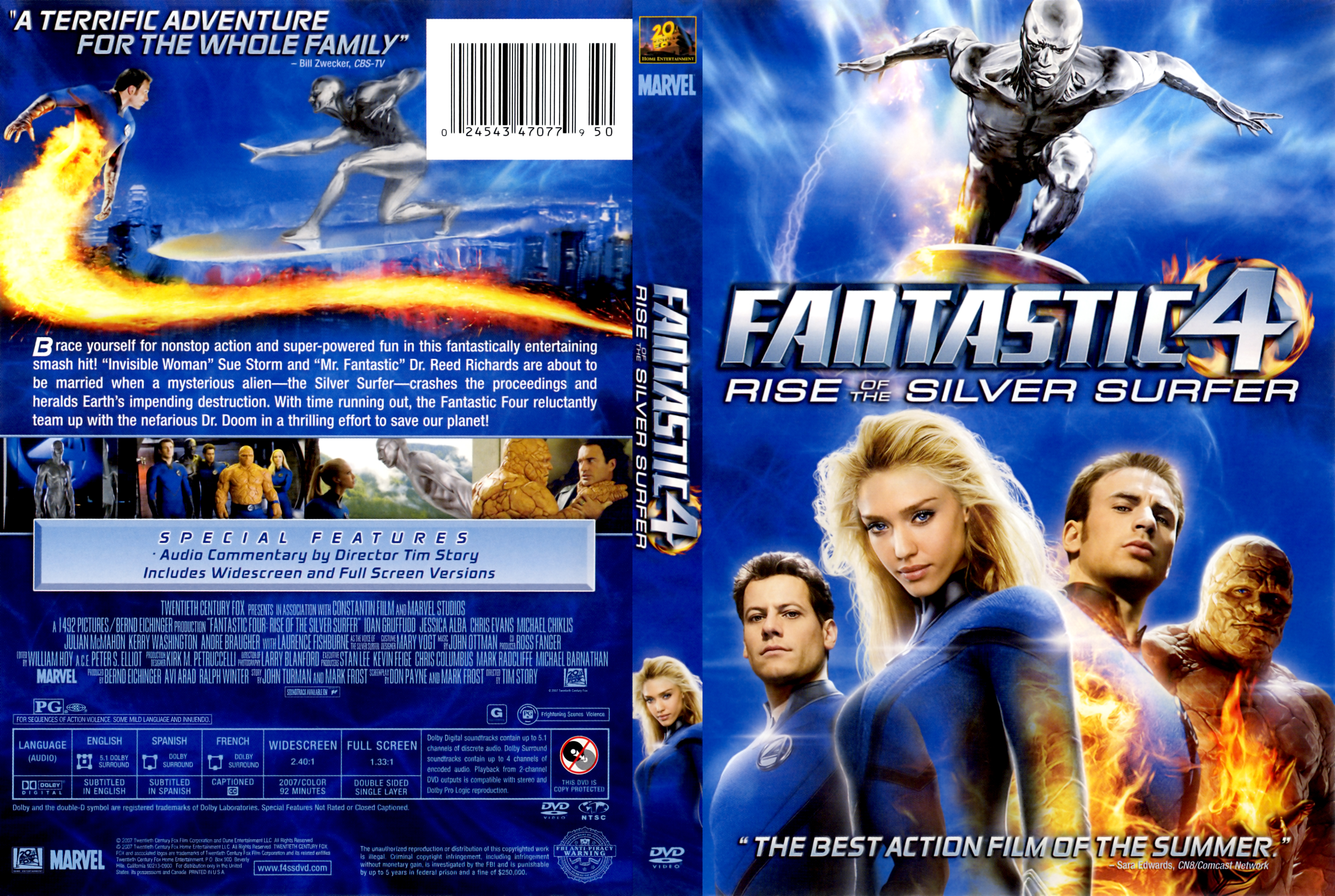 fantastic 4 rise of the silver surfer free movie
