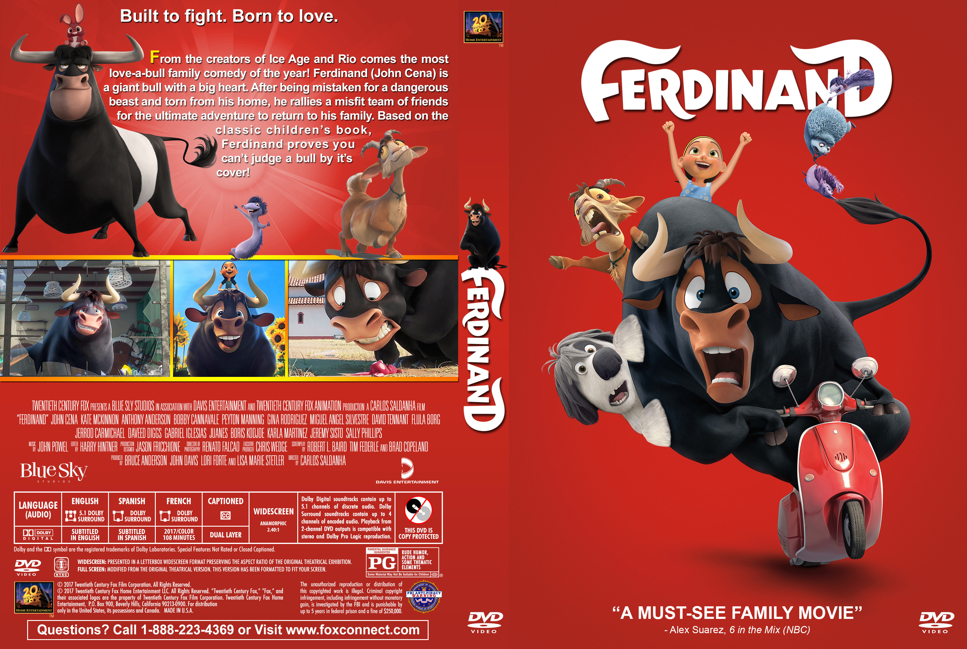 Ferdinand 2017 Front Dvd Covers Cover Century Over 500 000 Album Art Covers For Free