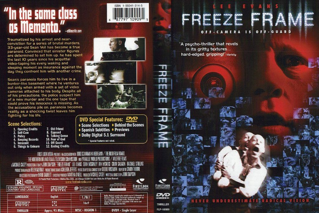 Freeze Frame DVD US | DVD Covers | Cover Century | Over 500.000 ...