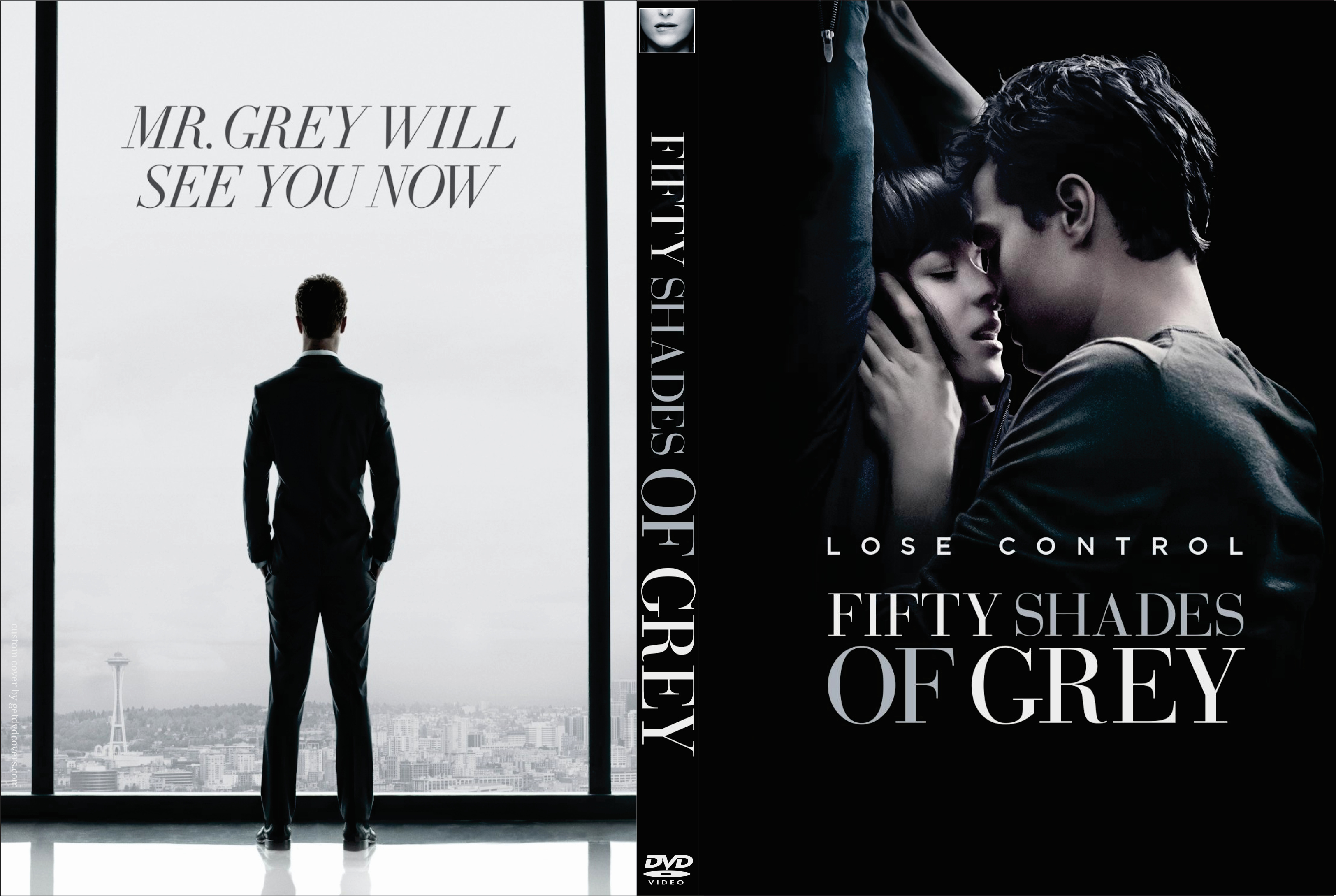 fifty shades of grey 2015 custom front | DVD Covers