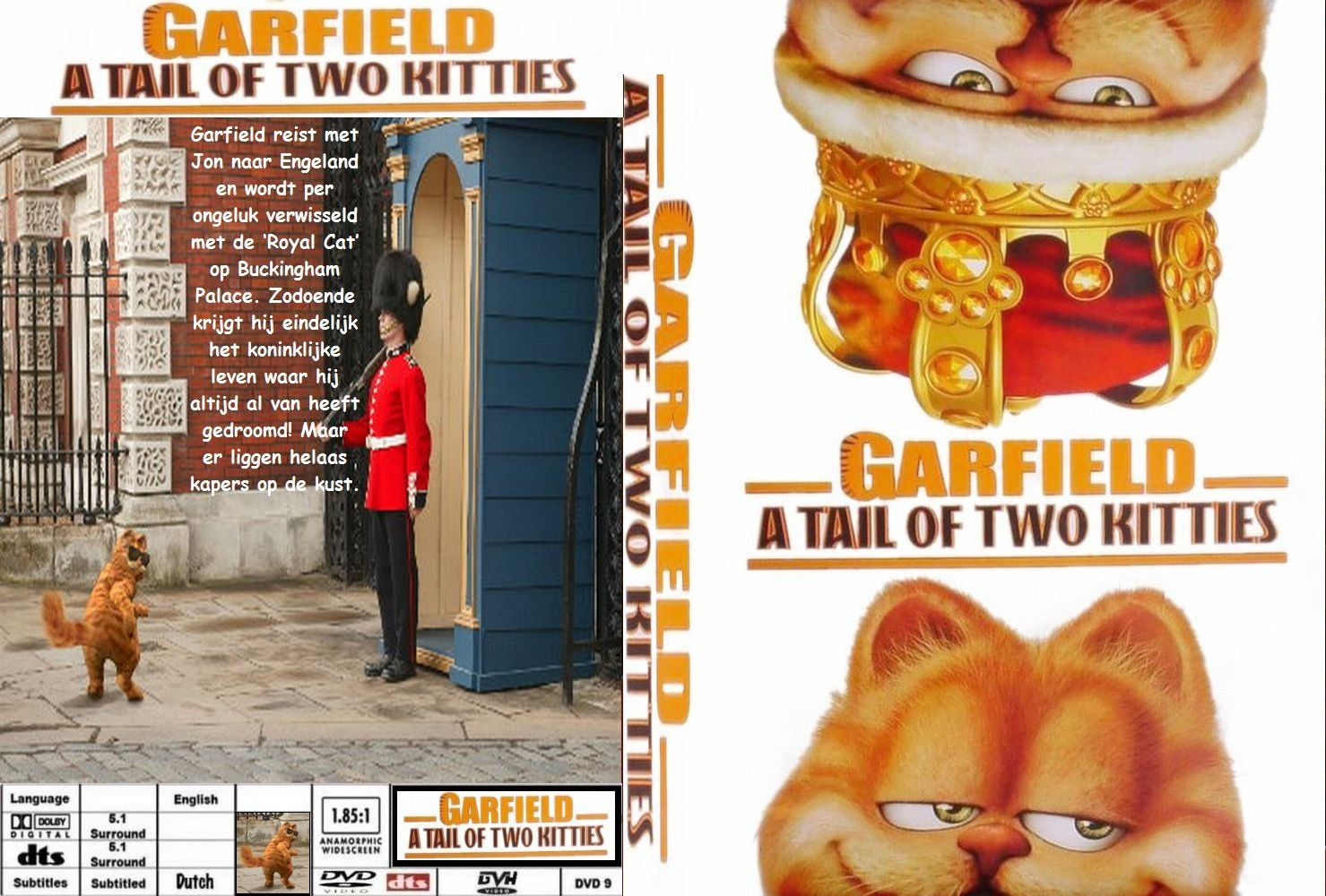 Garfield A Tail Of Two Kitties Dvd Nl Custom Dvd Covers Cover Century Over 500 000 Album Art Covers For Free