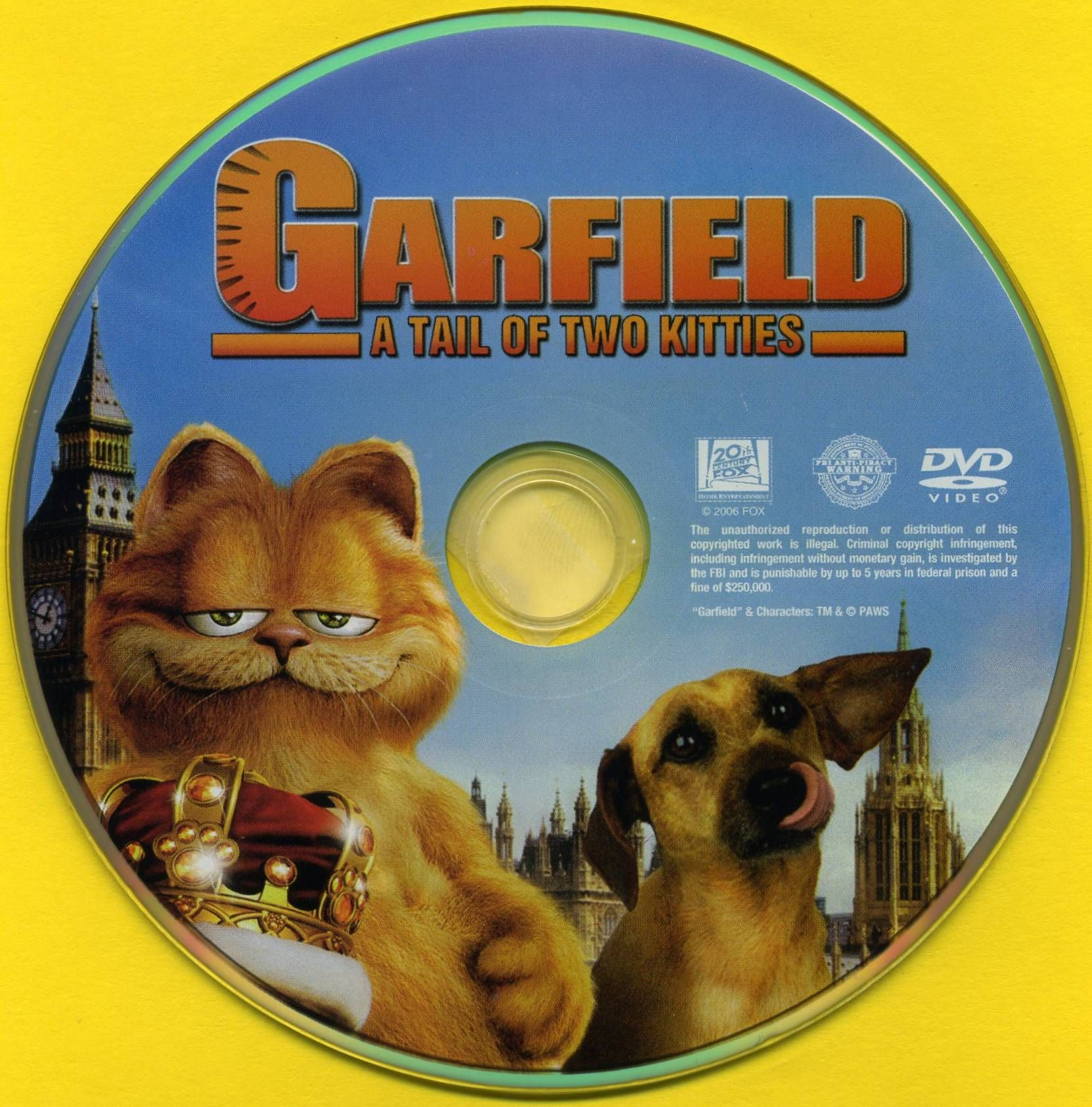 Garfield A Tale Of Two Kitties Dvd Cd Dvd Covers Cover Century Over 500 000 Album Art Covers For Free