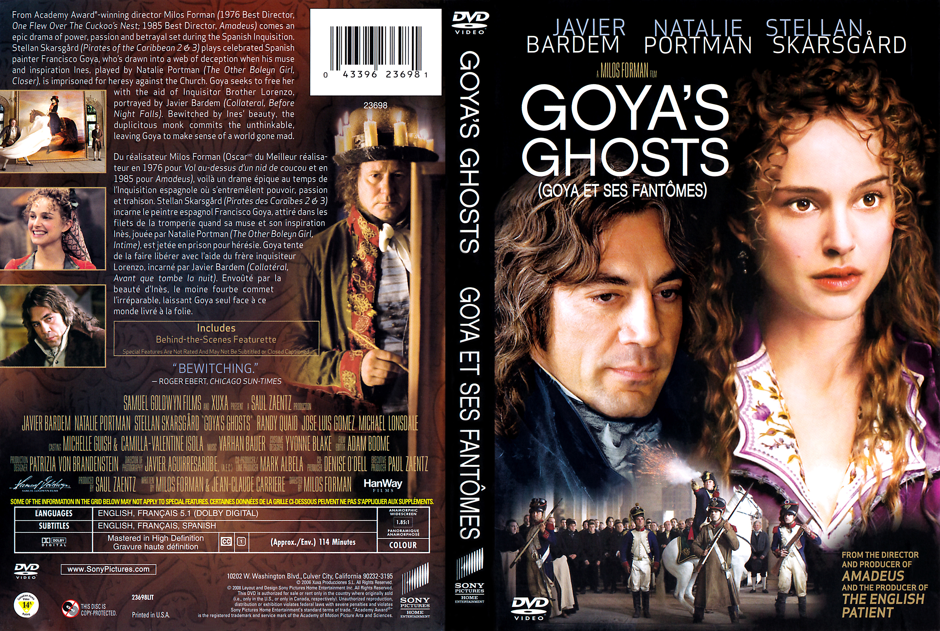Free Preview Of Natalie Portman Naked In Goya's Ghosts