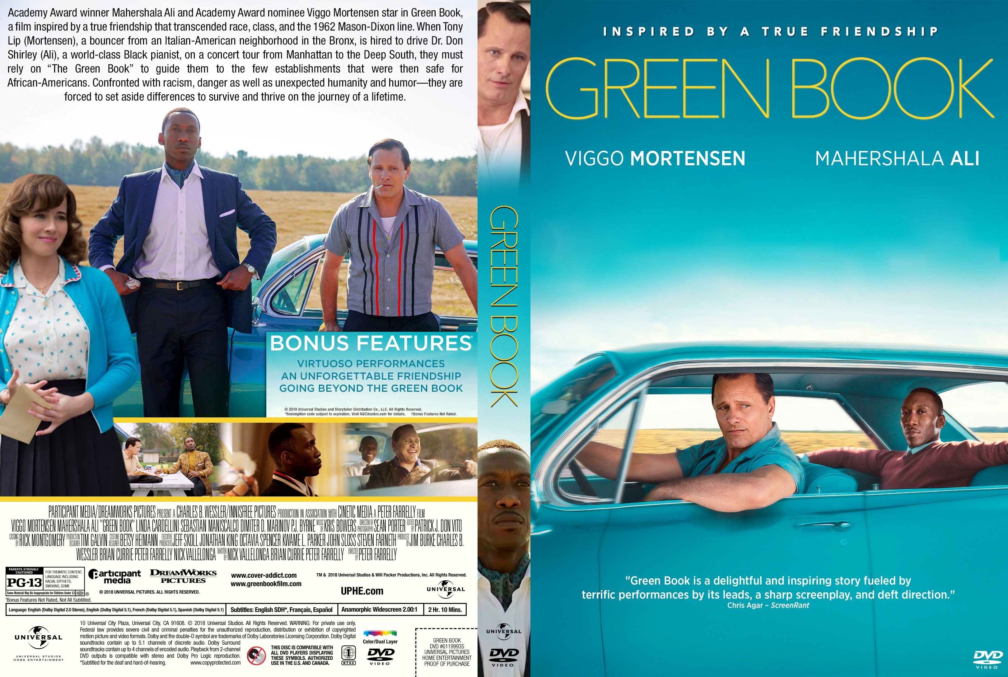 Green Book 2018 Front Dvd Covers Cover Century Over 500 000 Album Art Covers For Free