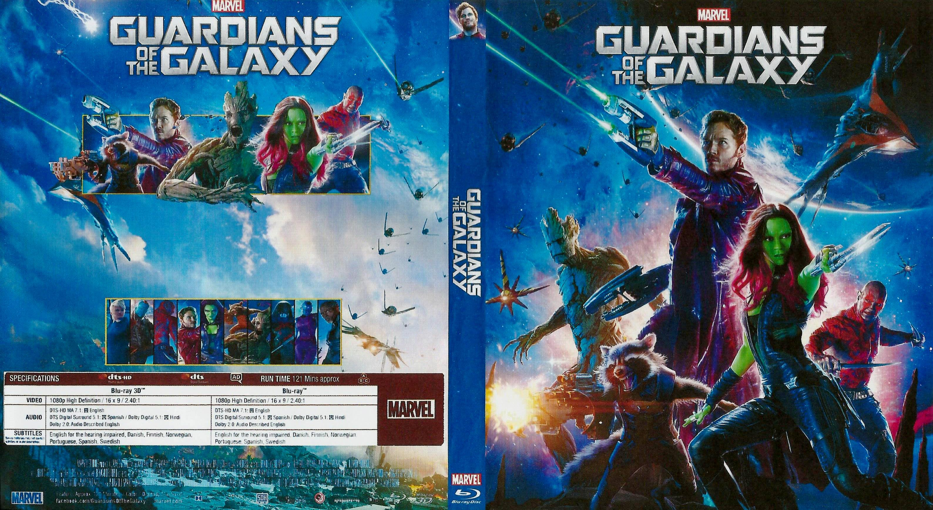 guardians of the galaxy | DVD Covers | Cover Century | Over