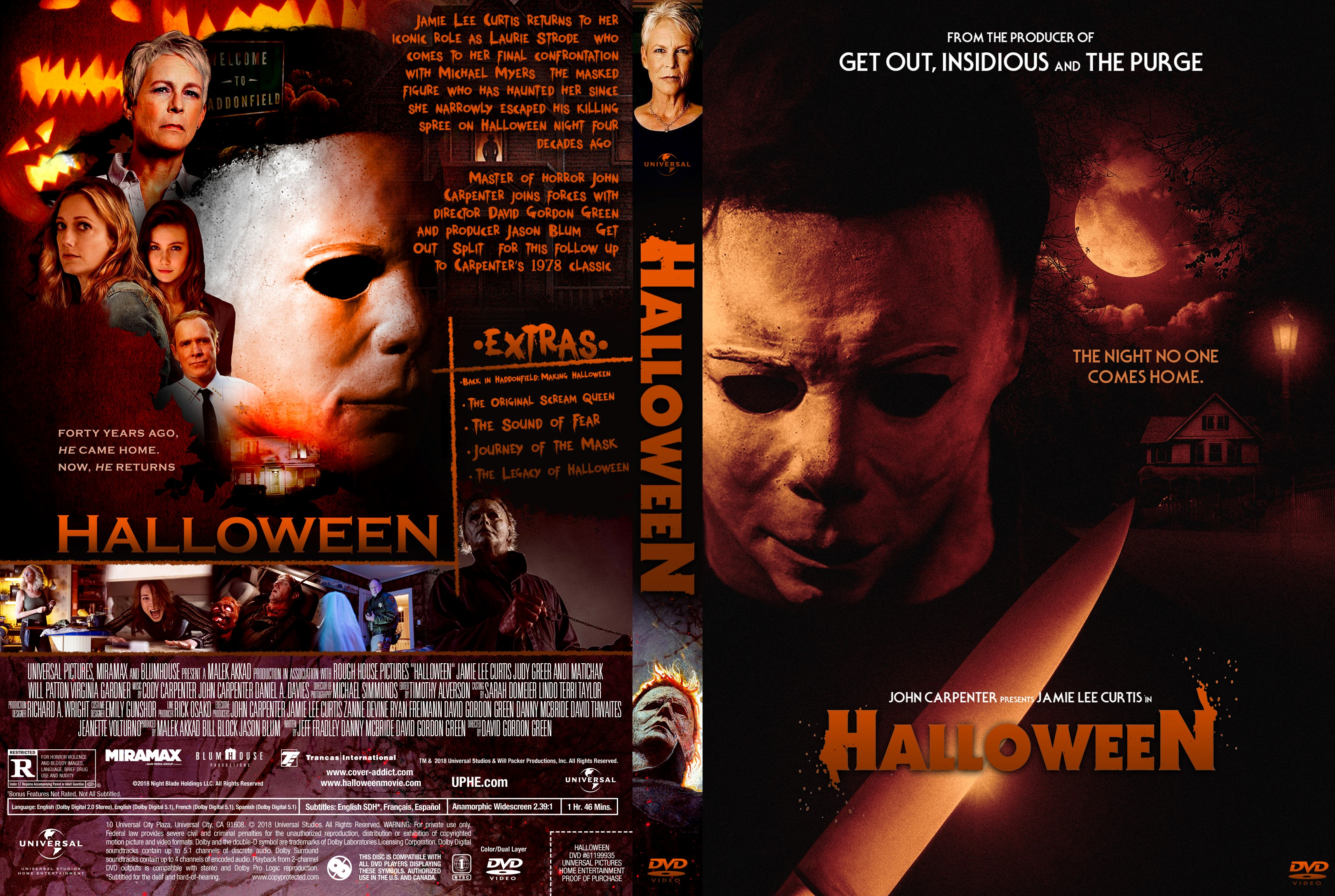 Halloween 2018 V2 Front Dvd Covers Cover Century Over 500 000 Album Art Covers For Free