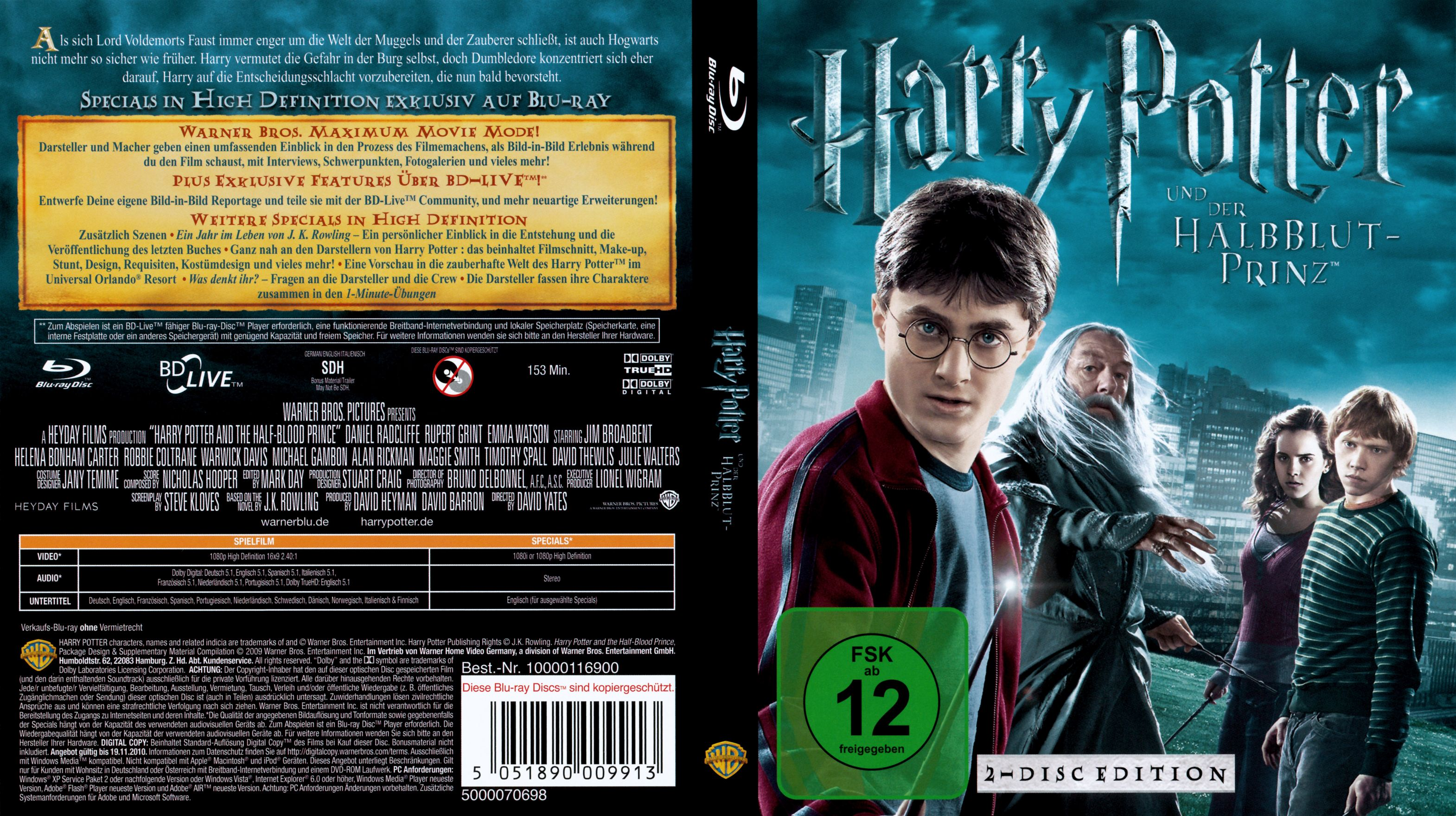 Harry Potter 6 Dvd Covers Cover Century Over 500 000 Album Art Covers For Free