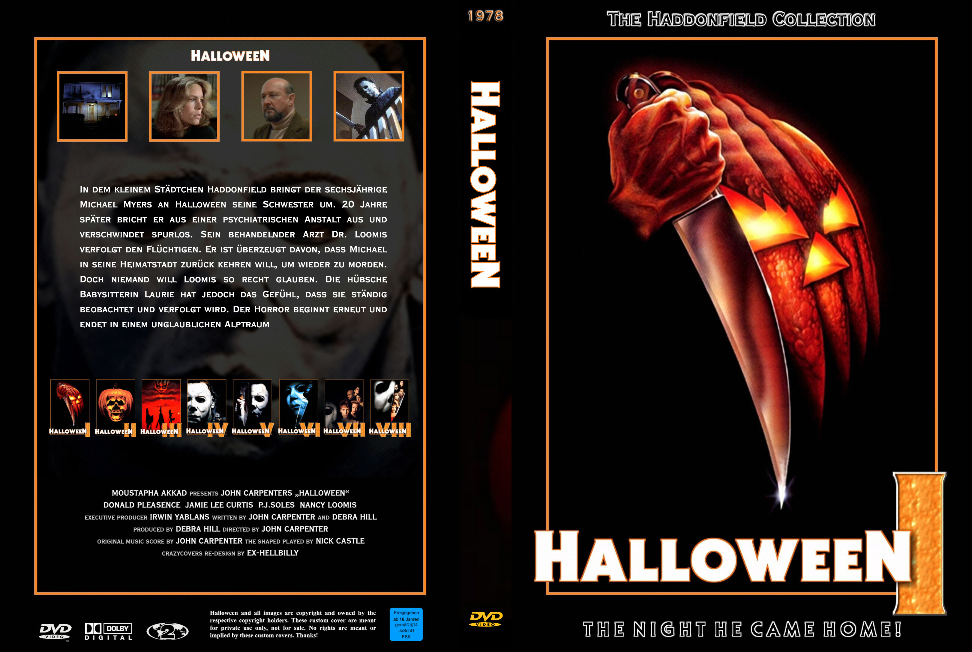 halloween 1 | dvd covers | cover century | over 500.000 album art
