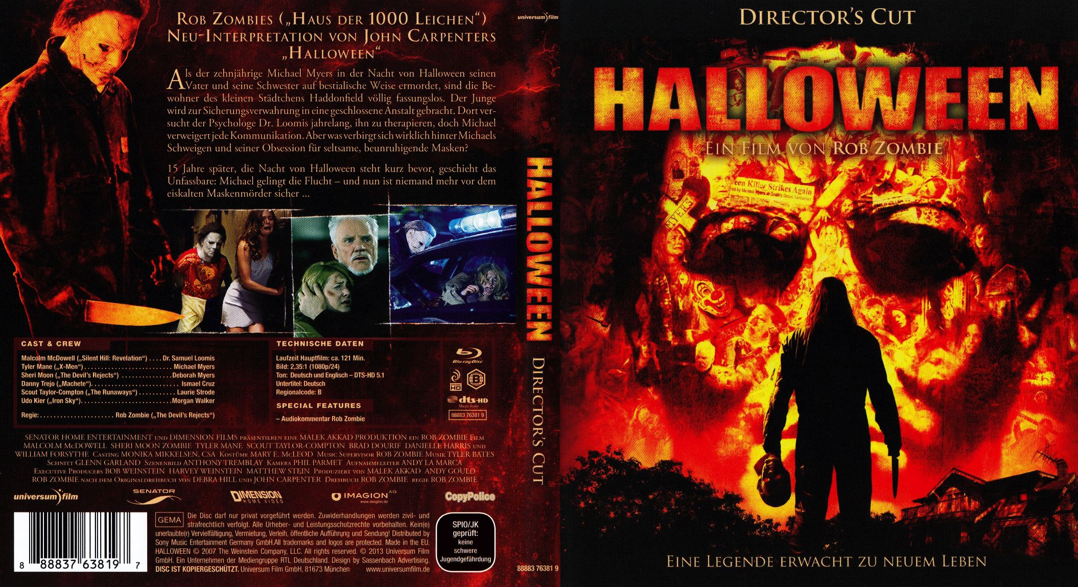 halloween 1 2007 directors cut | dvd covers | cover century | over