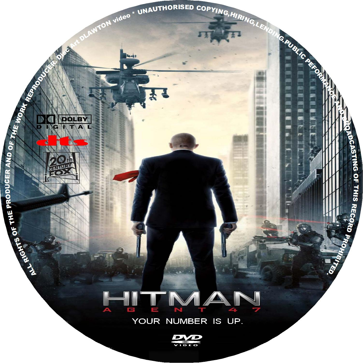 Hitman Agent 47 2015 R1 Custom Cd Dvd Covers Cover Century