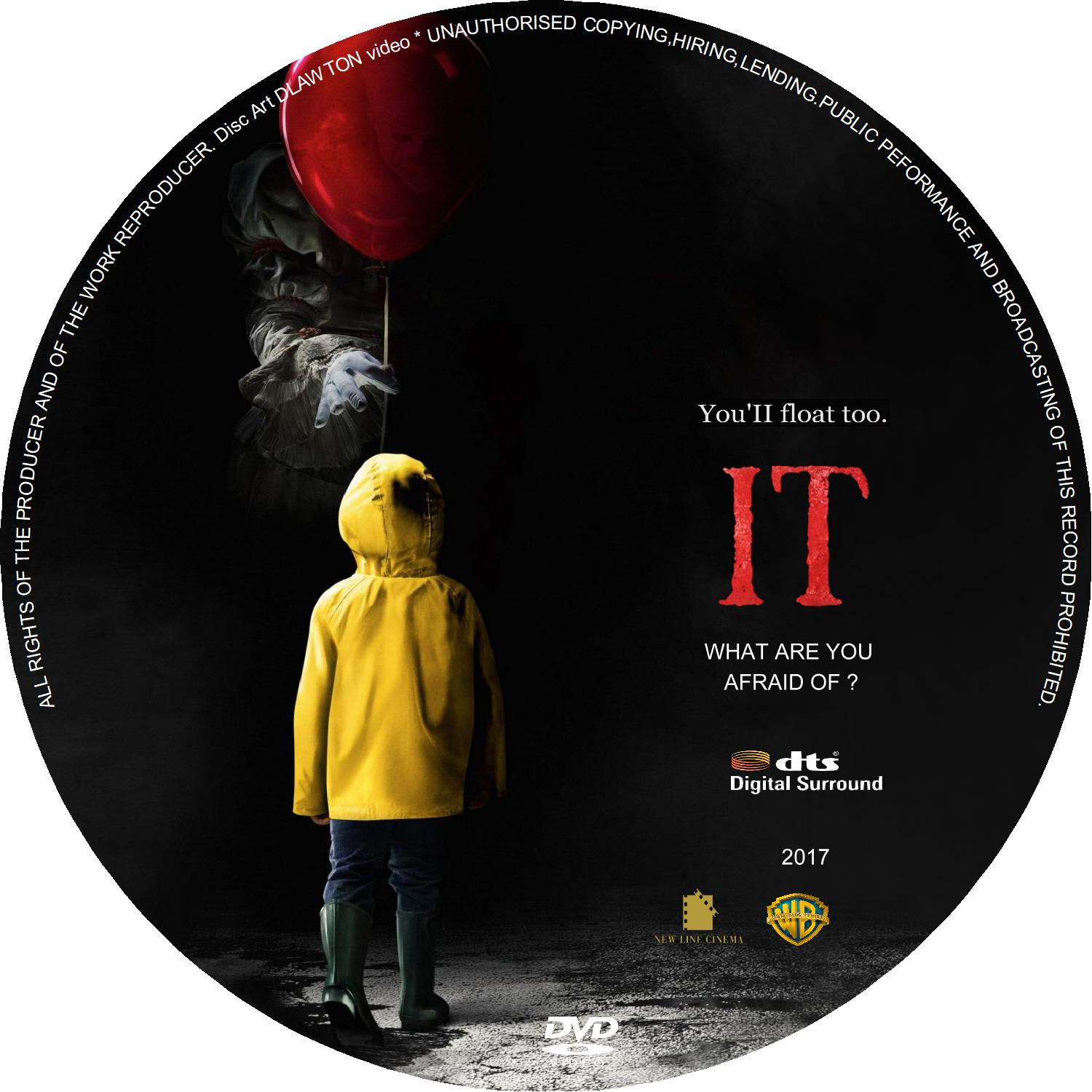 IT (2017) : CD | DVD Covers | Cover Century | Over 500.000 ...