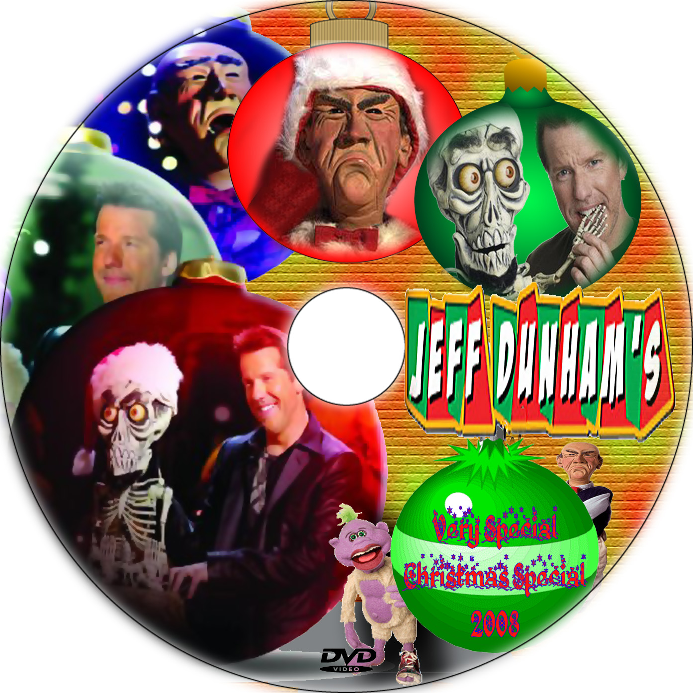 Jeff Dunham Christmas | DVD Covers | Cover Century | Over 500.000 ...