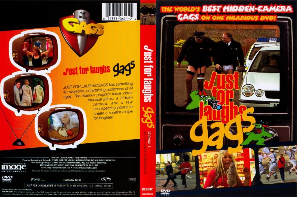 Just For Laughs Gags Dvd Us Dvd Covers Cover Century Over 500 000 Album Art Covers For Free