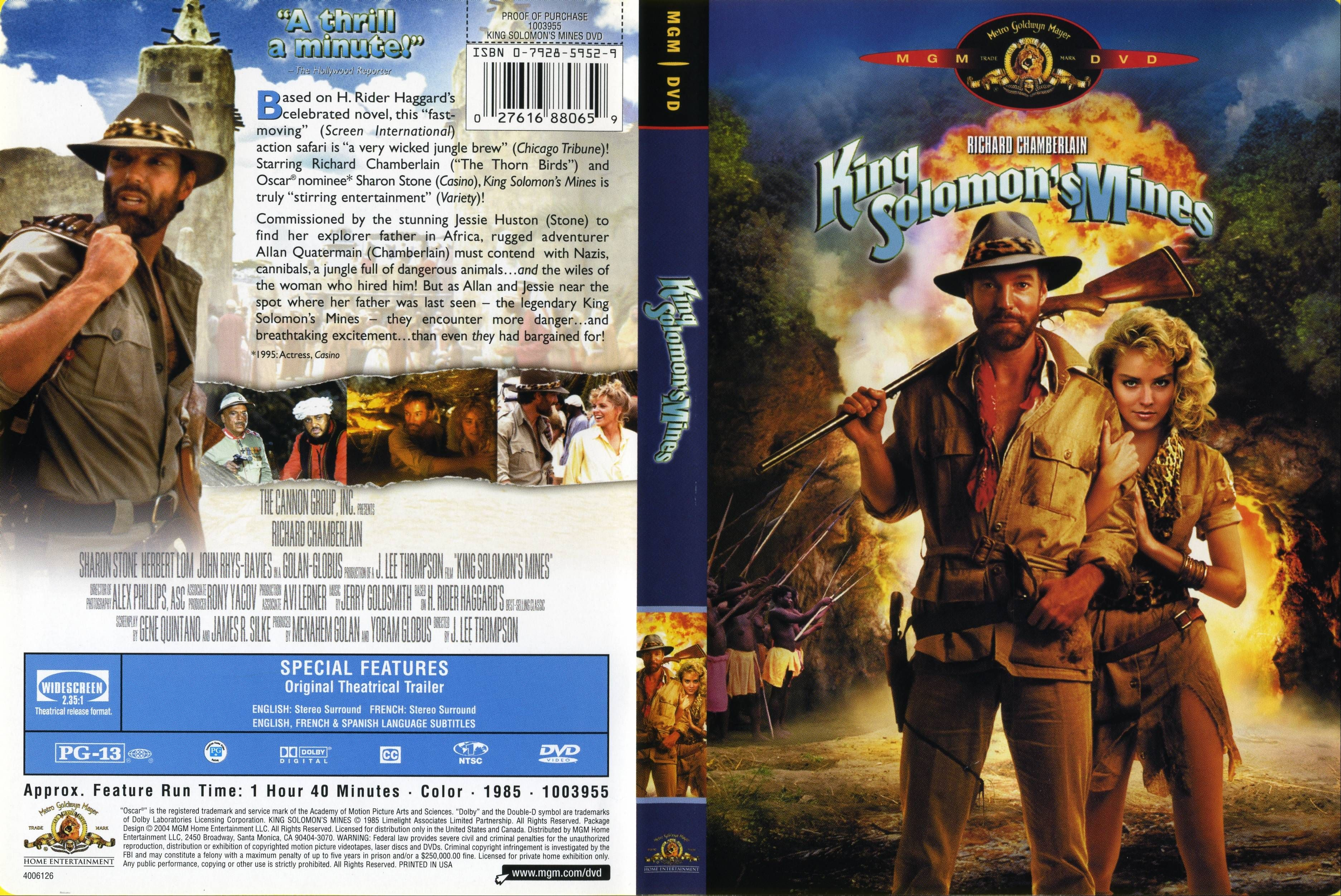 King Solomons Mines 1985  Rotten Tomatoes